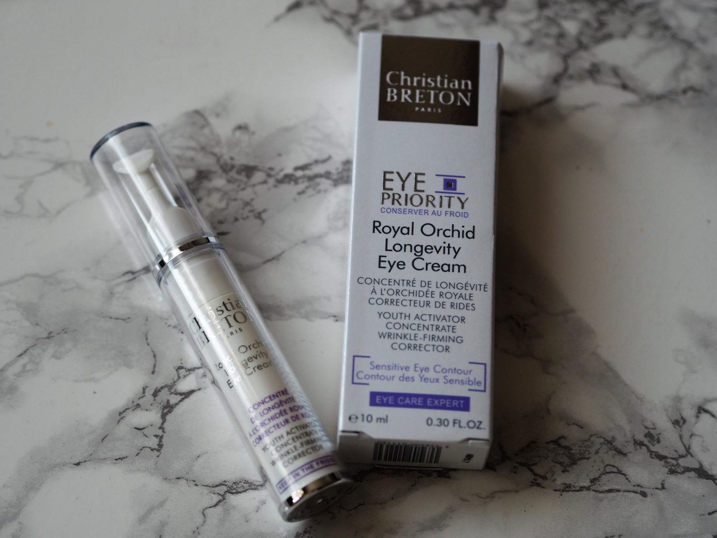 Around The World Beauty - Product: Christian Breton Paris Eye Priority Royal Orchid Longevity Eye Cream