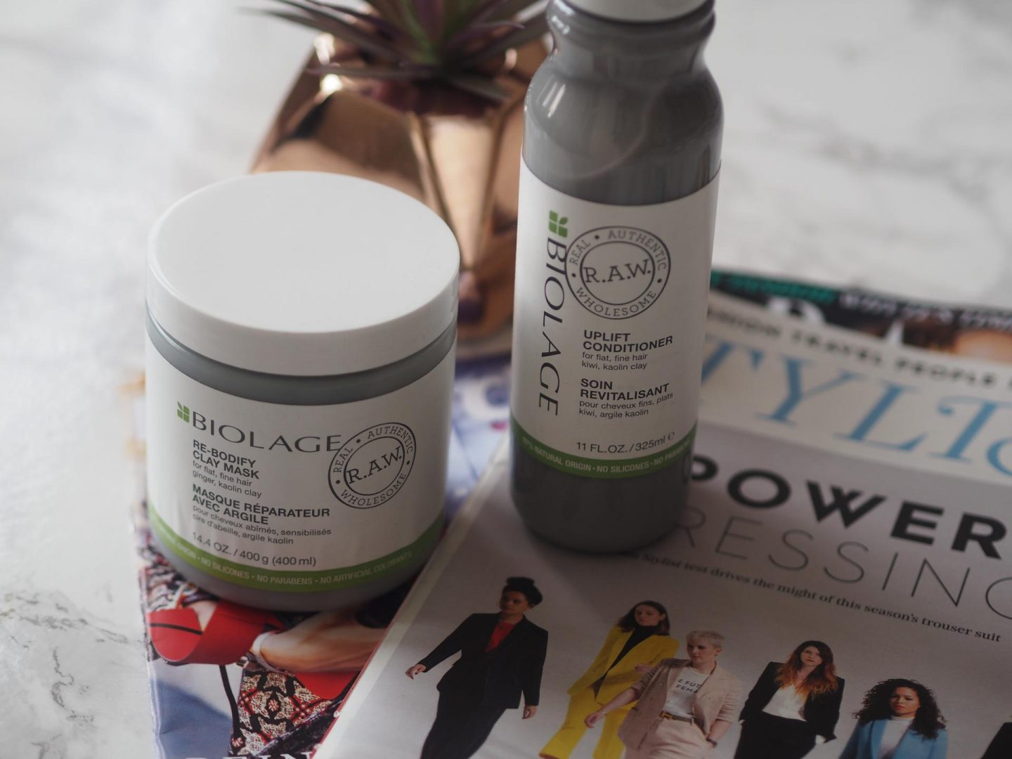 Lookfantastic beauty haul and Biolage Uplift and Rebodify range