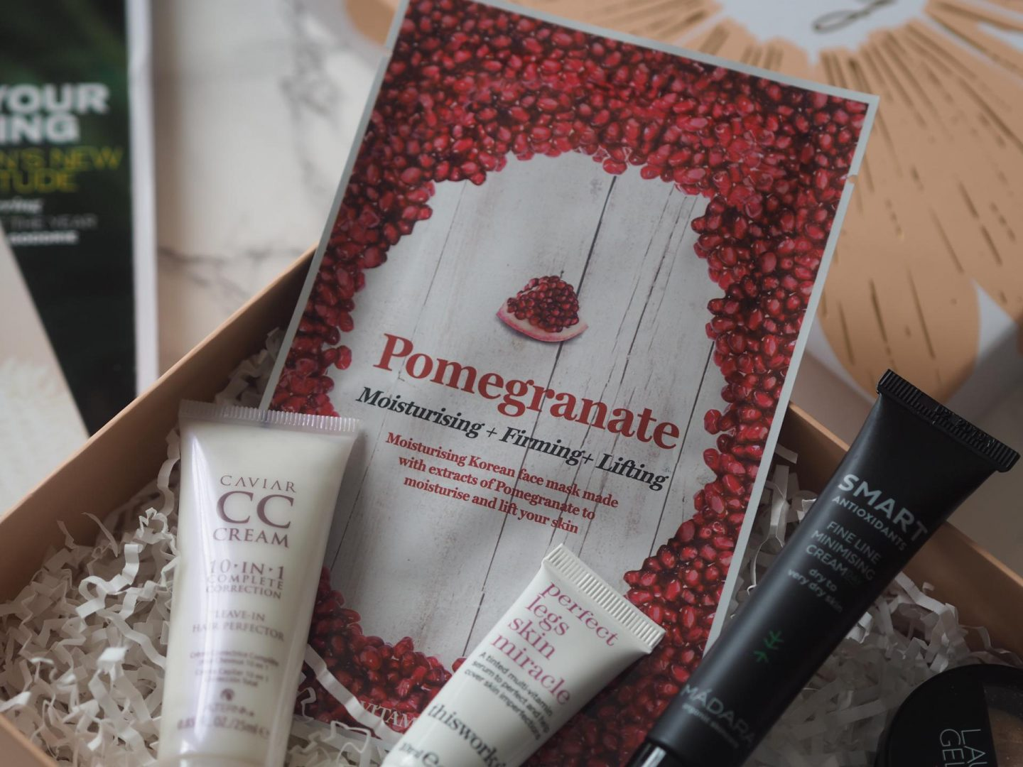 Pomegranate Sheet Mask from Vitamasques