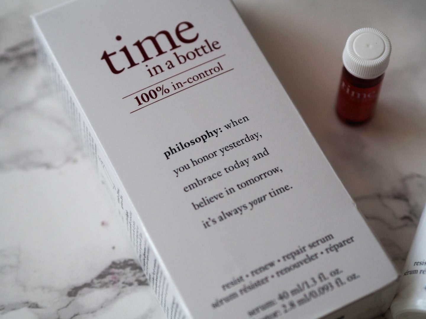 Philosophy Time in a Bottle Repair Serum