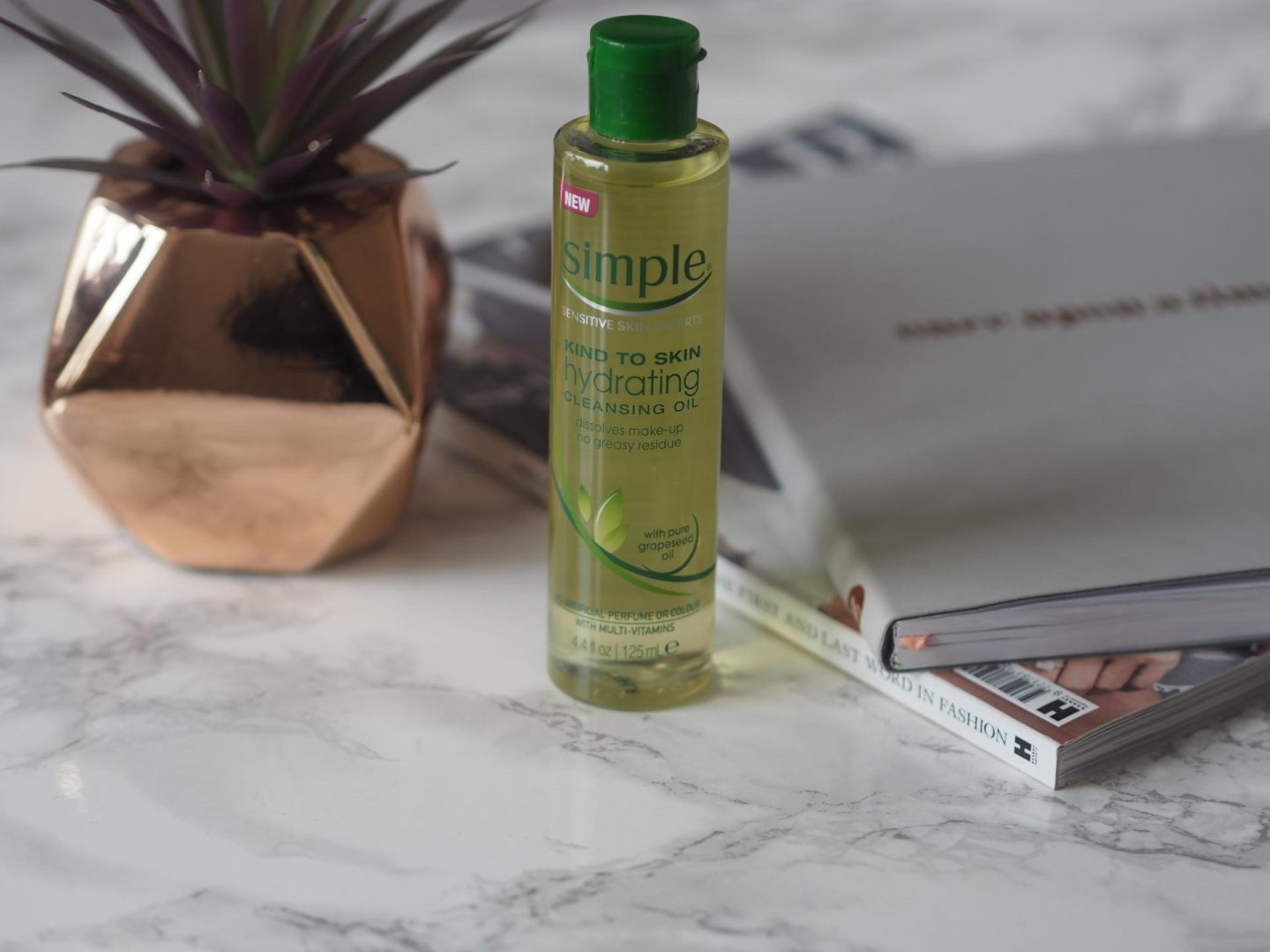 Simple Hydrating Cleansing Oil and best drugstore beauty buys