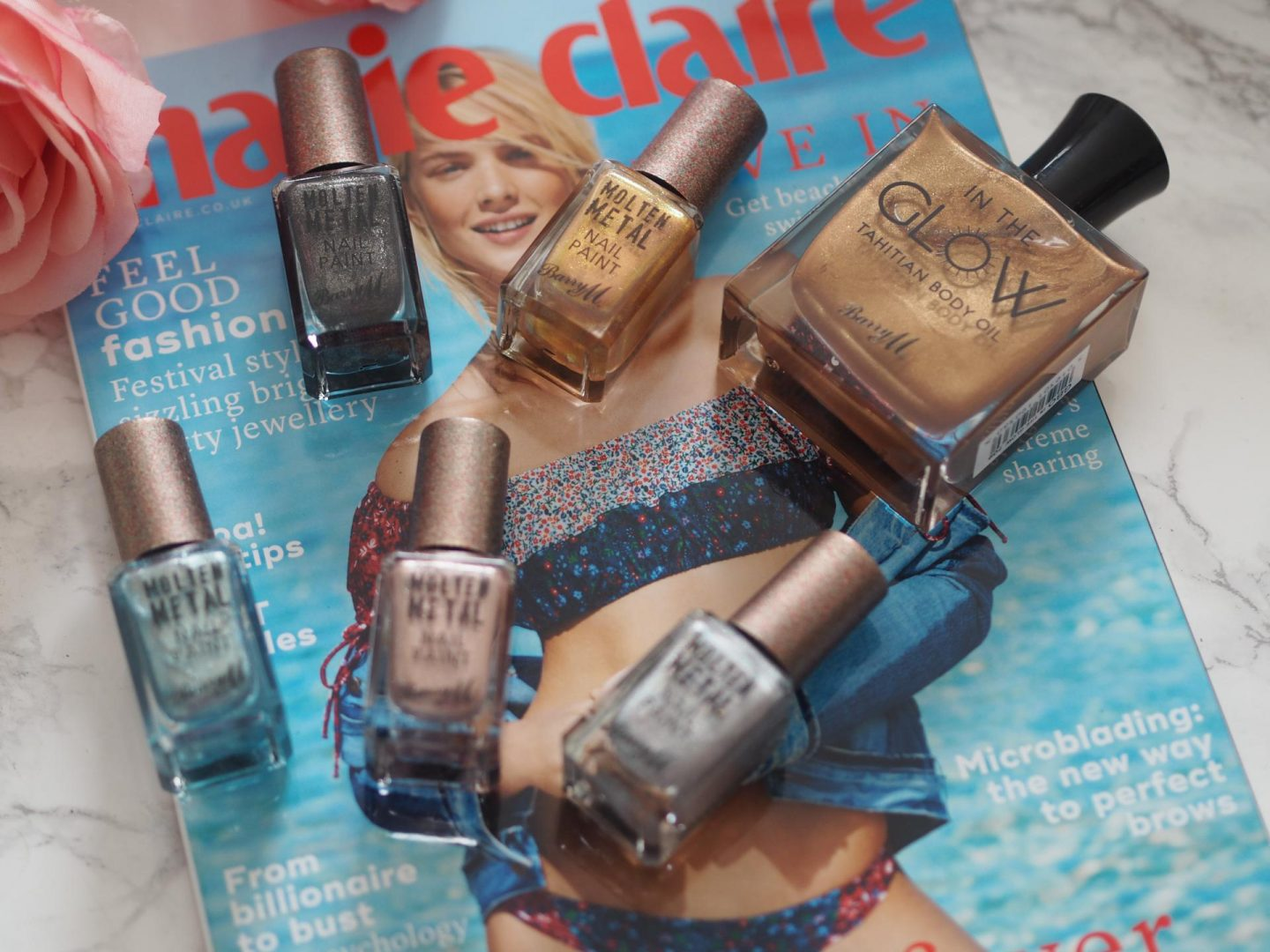 barry m molten metals collection and best drugstore beauty buys