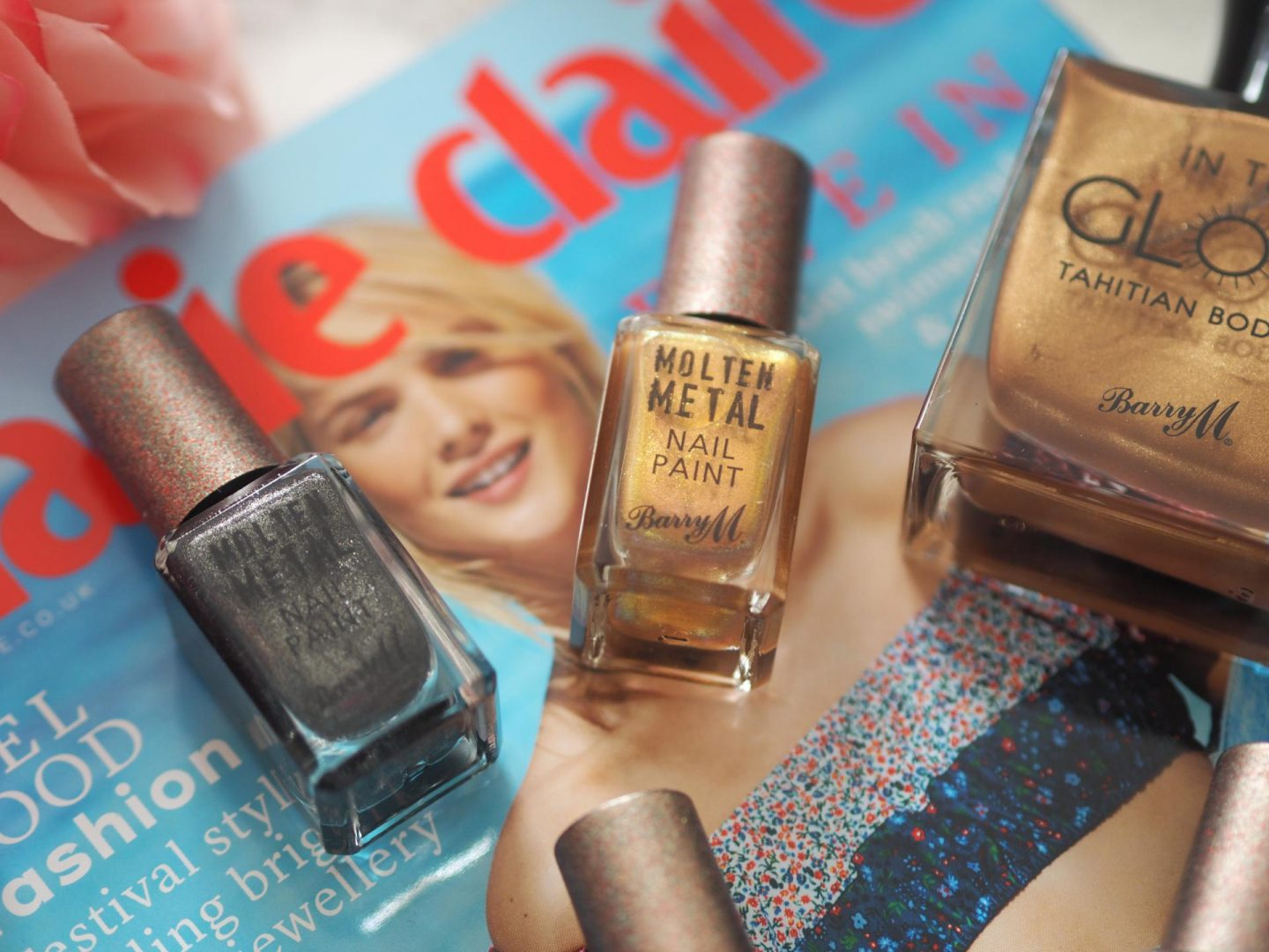 Barry M Molten Metals Nail Paint