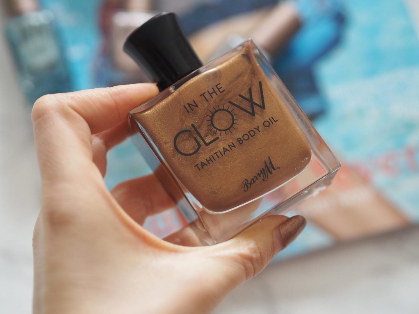 Barry M Glow Tahitian Body Oil
