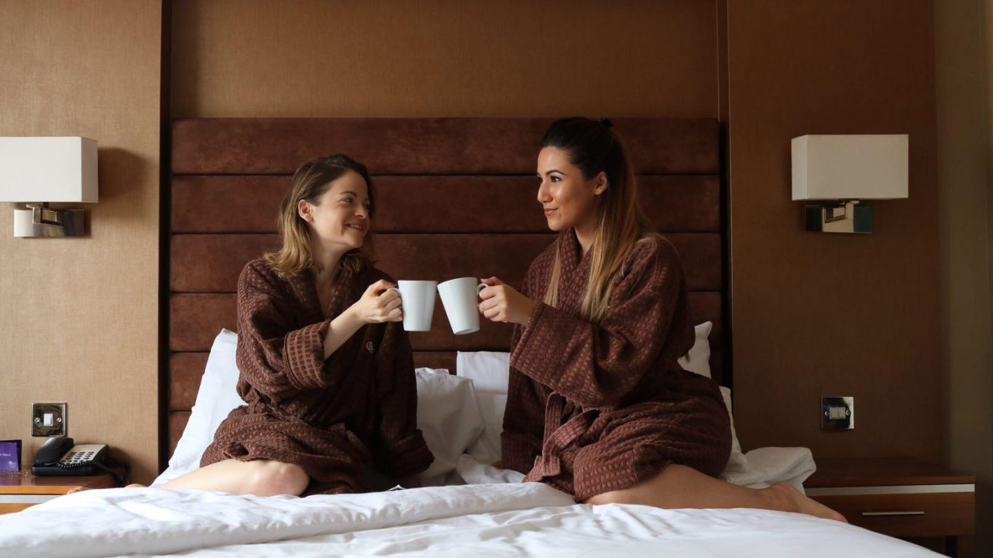 Hampshire Court Hotel Pool hotel review and spa trip