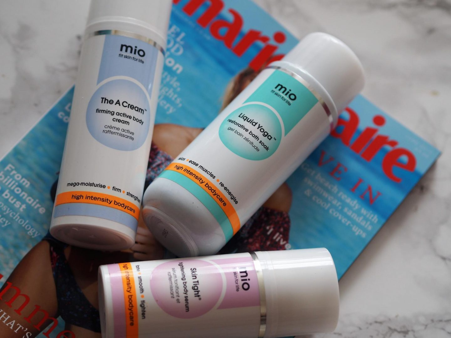 Springtime beauty haul and Mio products