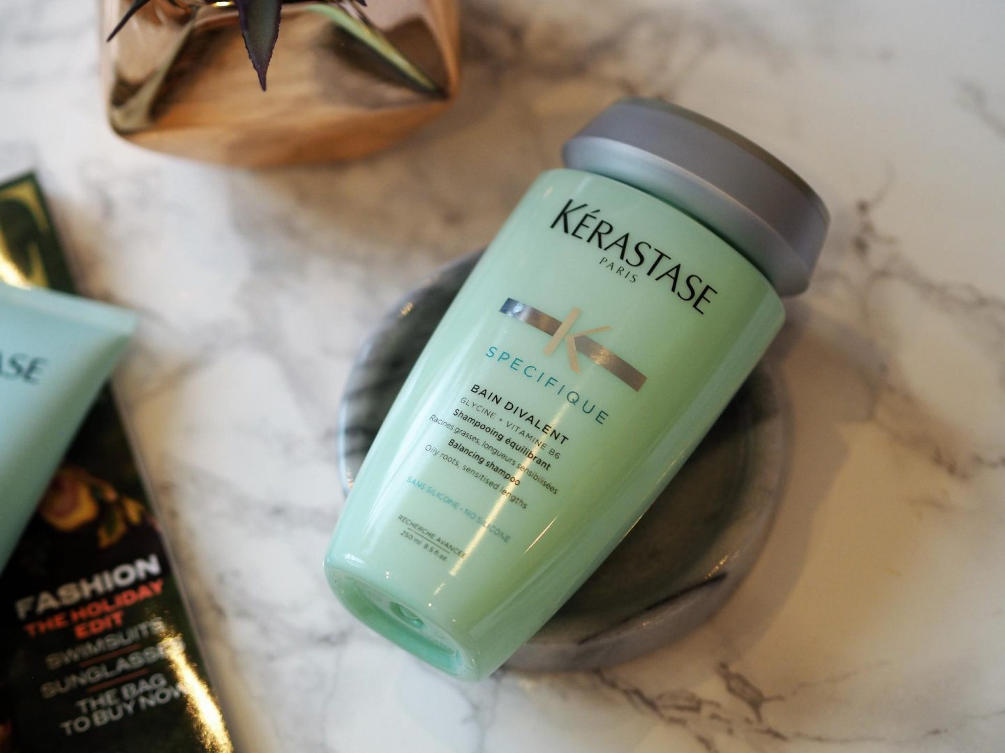 Products for fine hair - Product KERASTASE Balancing Shampoo