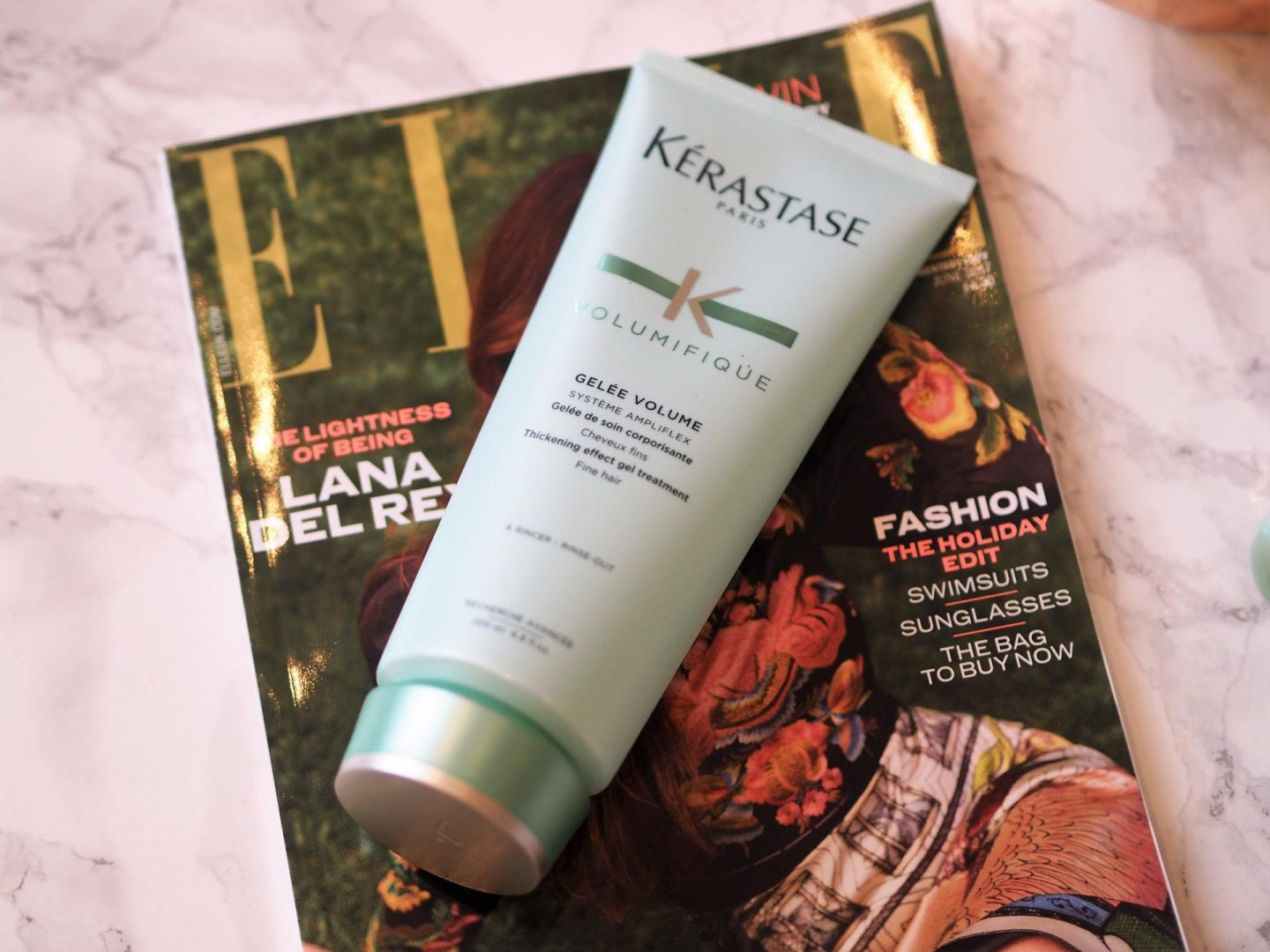 Products for fine hair - KERASTASE Thickening Effect Gel Treatment
