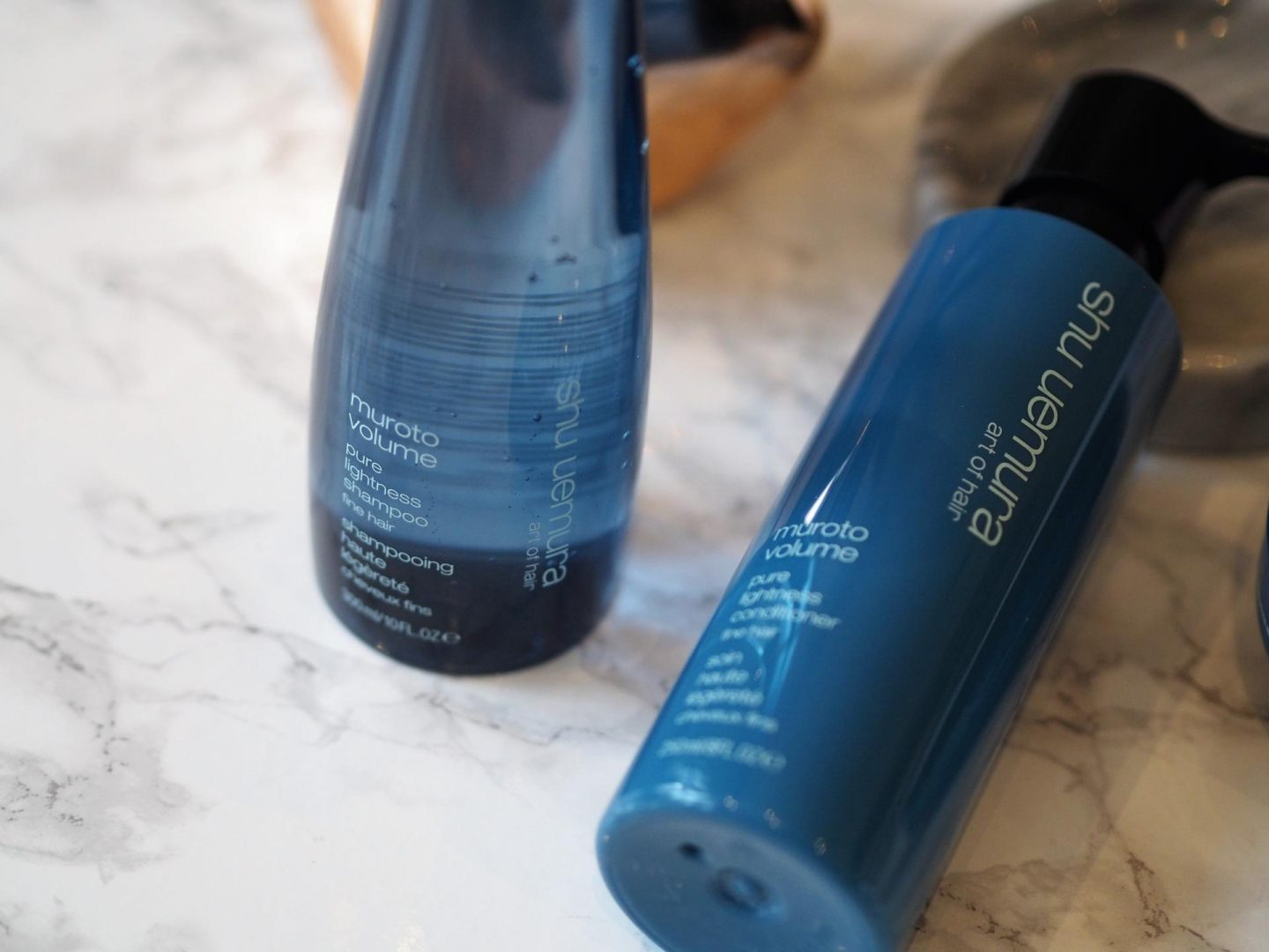 Products for fine hair - Product shu uemura art of hair