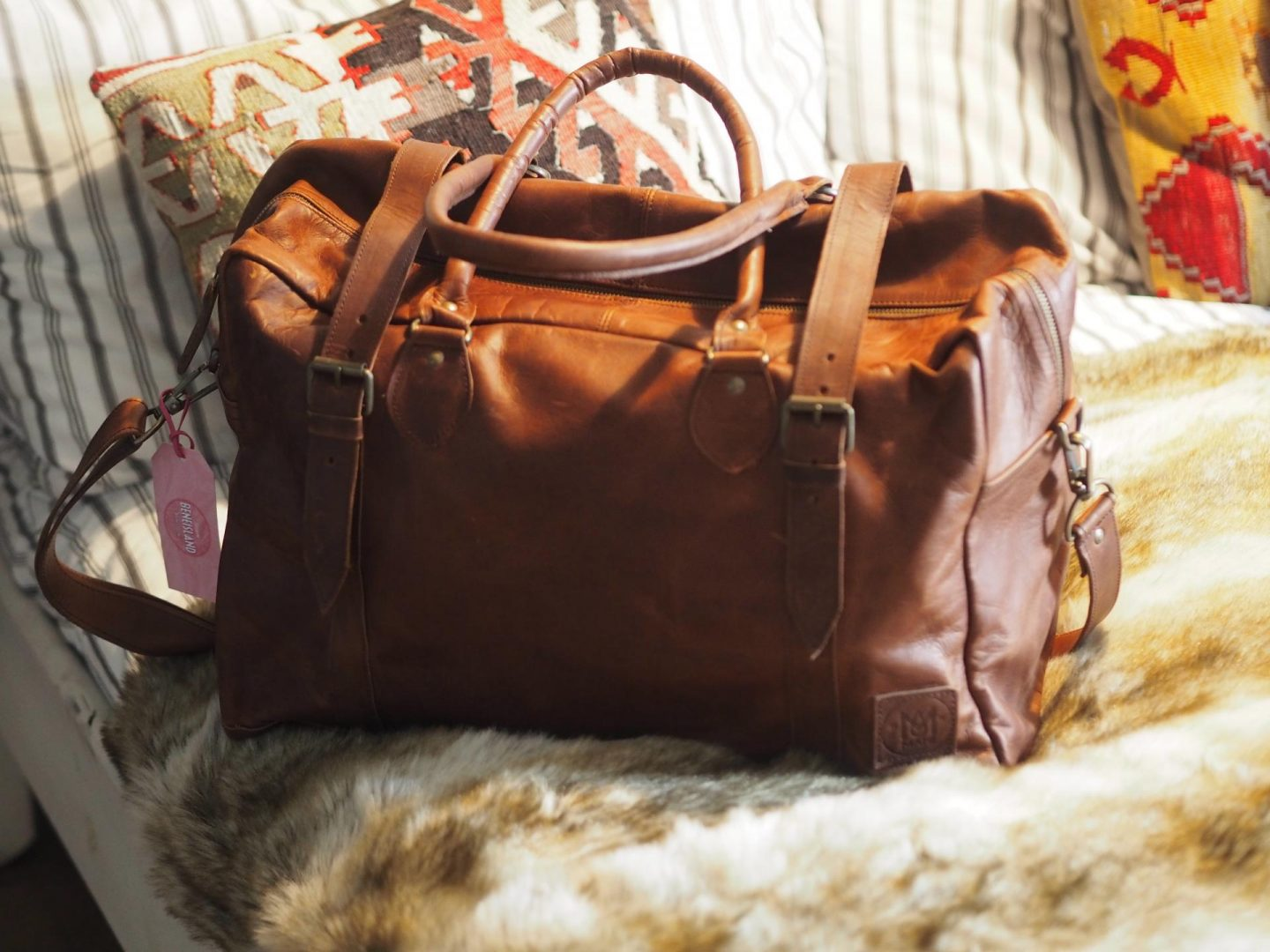 Mahi Leather Holdall