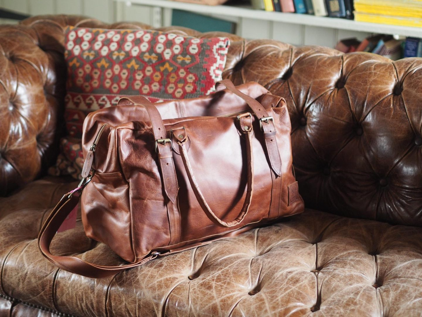 Mahi Leather Holdall from Not On The High Street