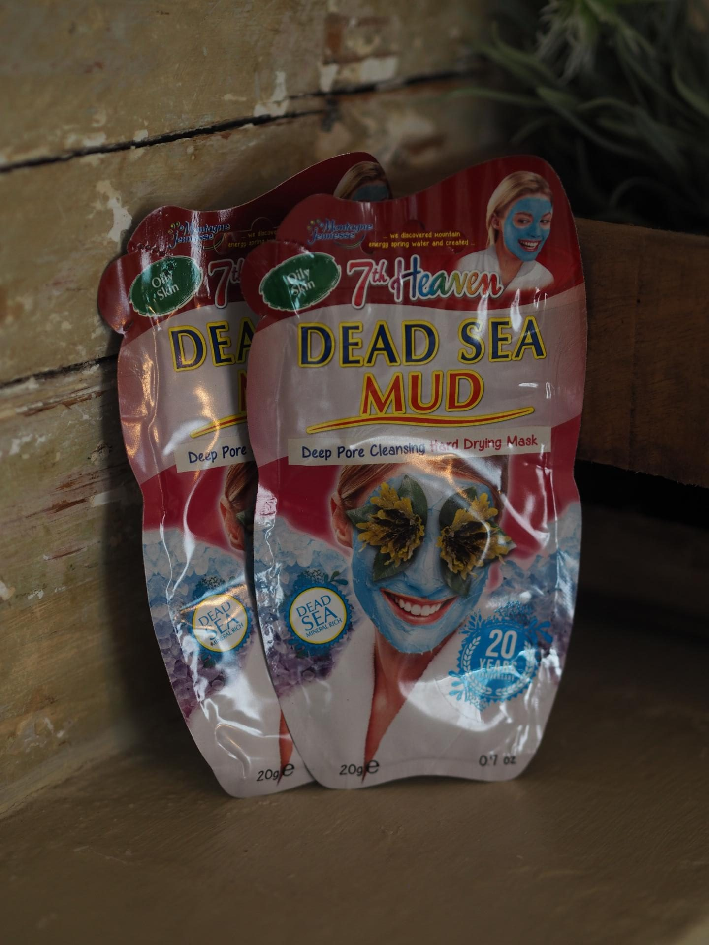 7th Heaven Mud Mask - 7th Heaven DEAD SEA MUD