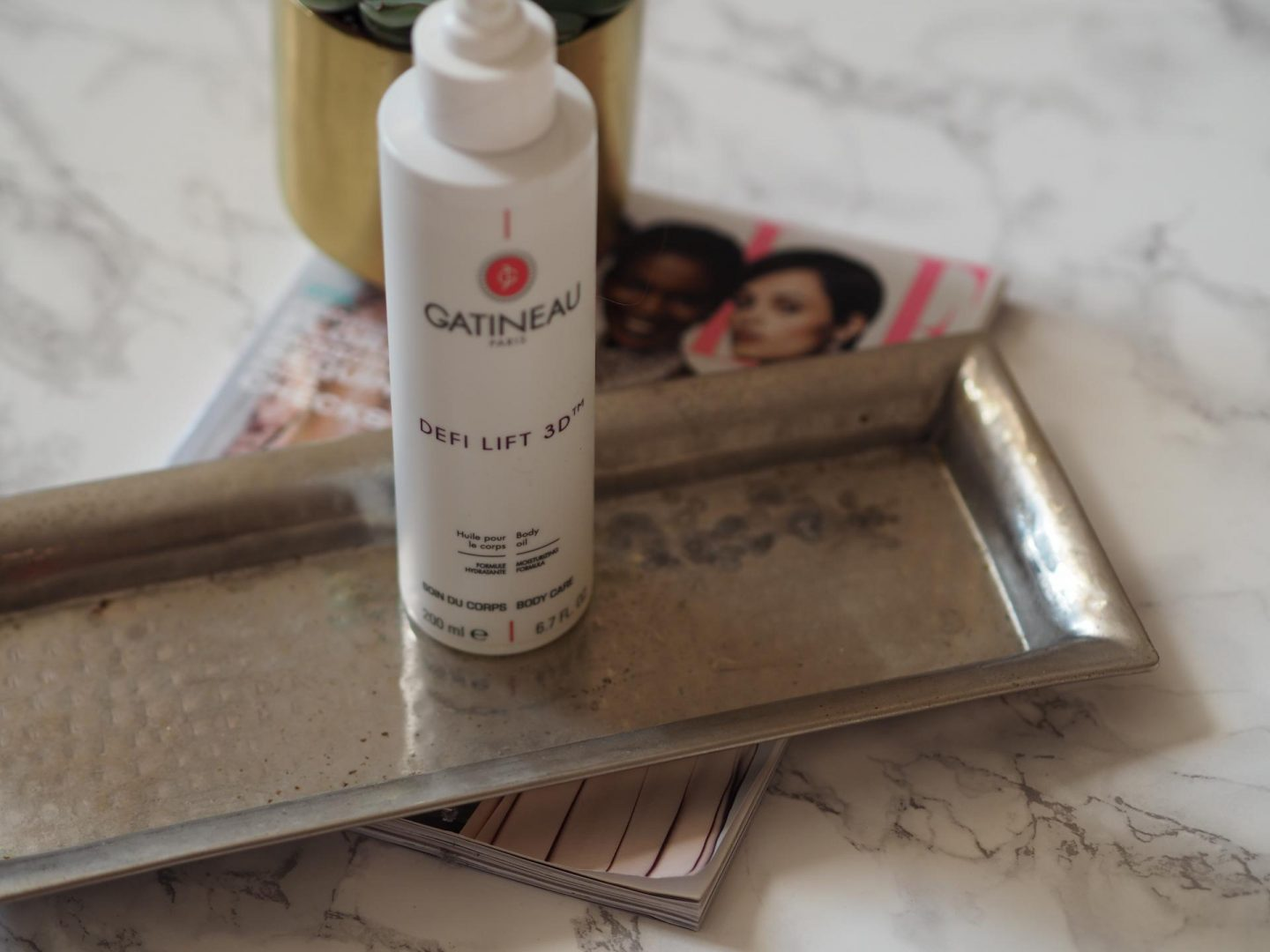 Luxe Beauty Buys - Product: Gatineau Defi Lift 3D Body Oil
