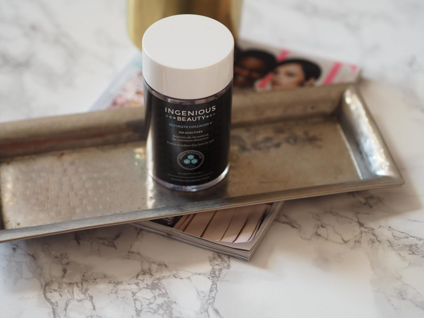 Luxe Beauty Buys - Product: Ingenious Beauty Ultimate Collagen+ Skincare Supplement