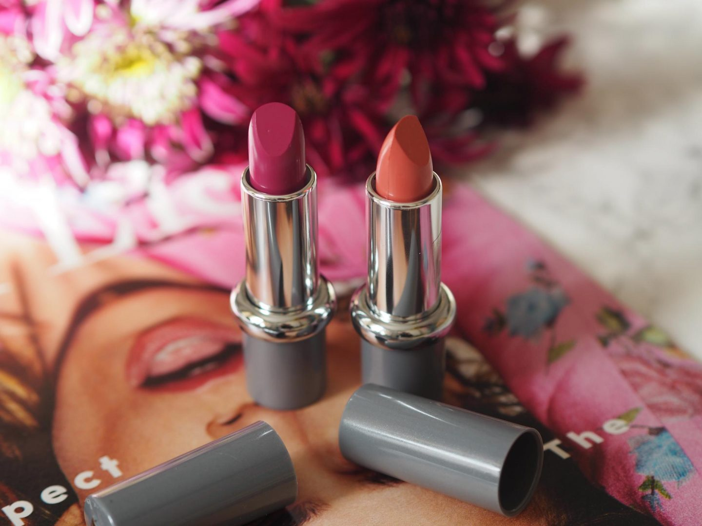 Best New Lipsticks - Product: Mavala Switzerland Lipstick (Happy Zen Collection) – Opal Rose and Glowing Violet