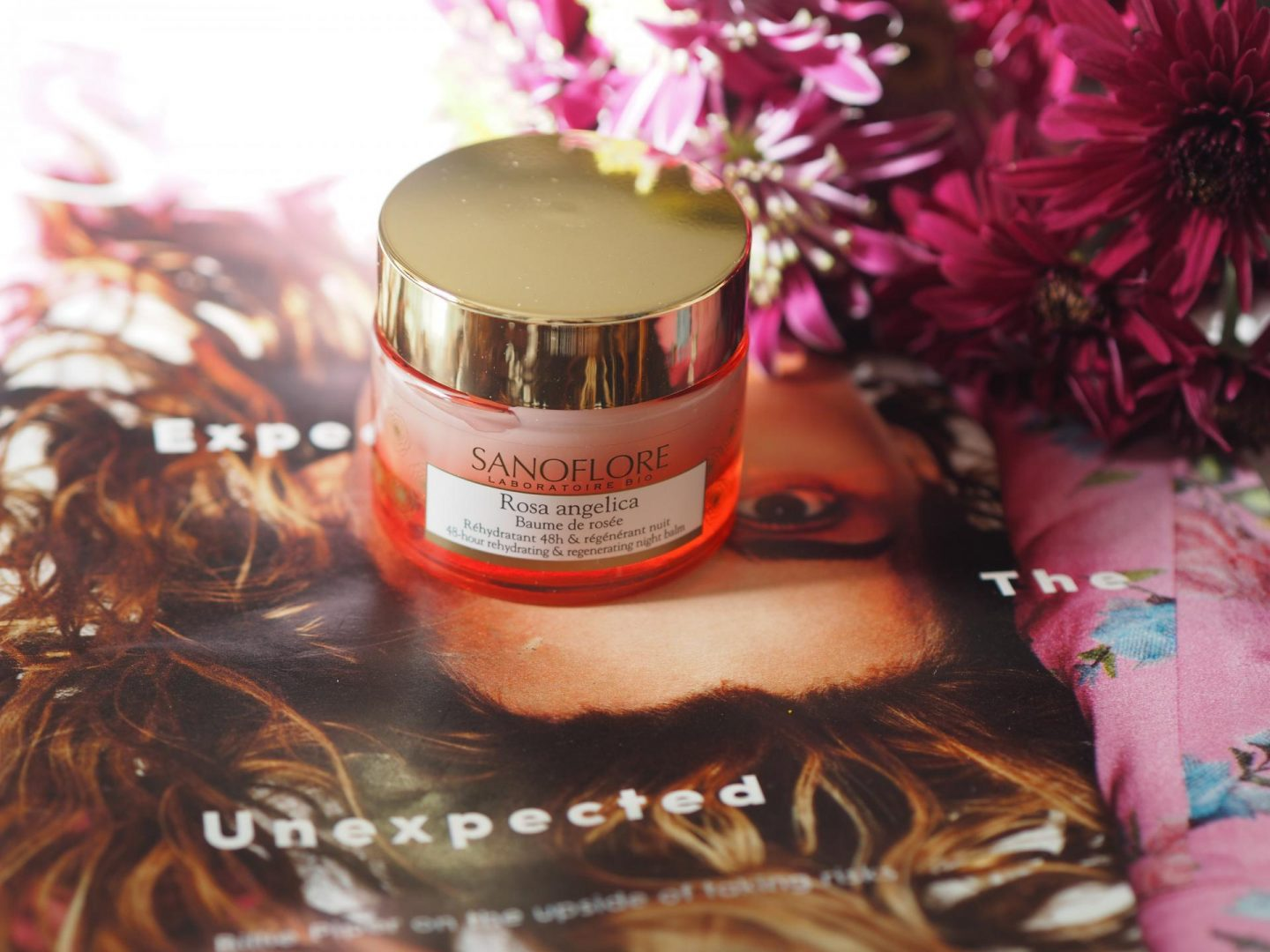 Flower Power - Product: Sanoflore Rosa Angelica Baume De Rosée Regenerating Night Balm