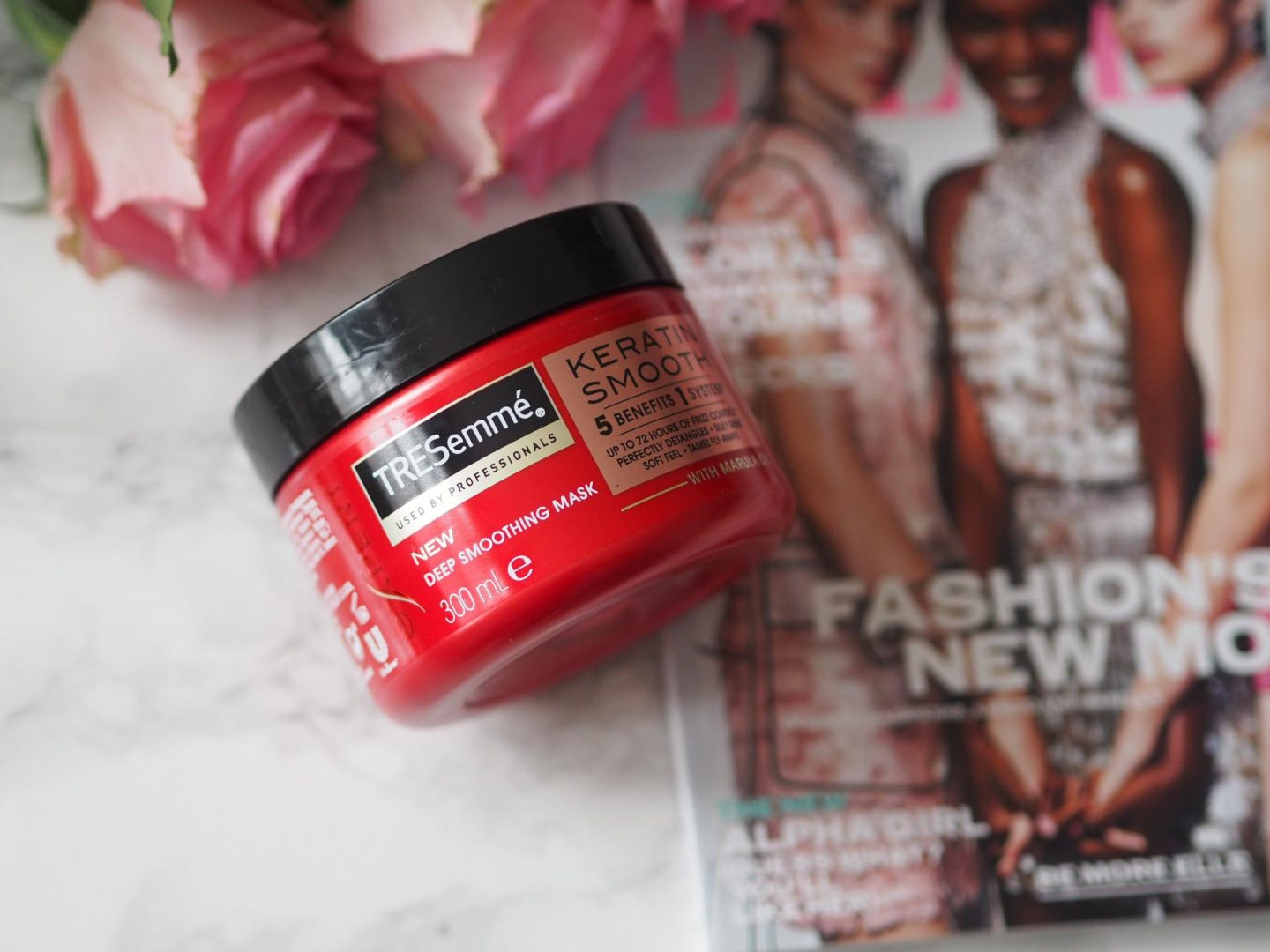Budget Friendly Haircare - Product Tresemme Keratin Smooth Deep Smoothing Mask