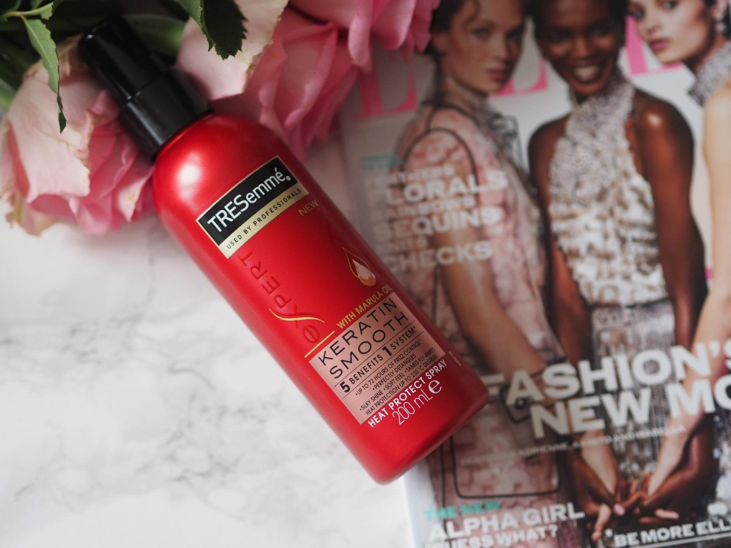 Budget Friendly Haircare - Product Tresemme Keratin Smooth Heat Protect Spray