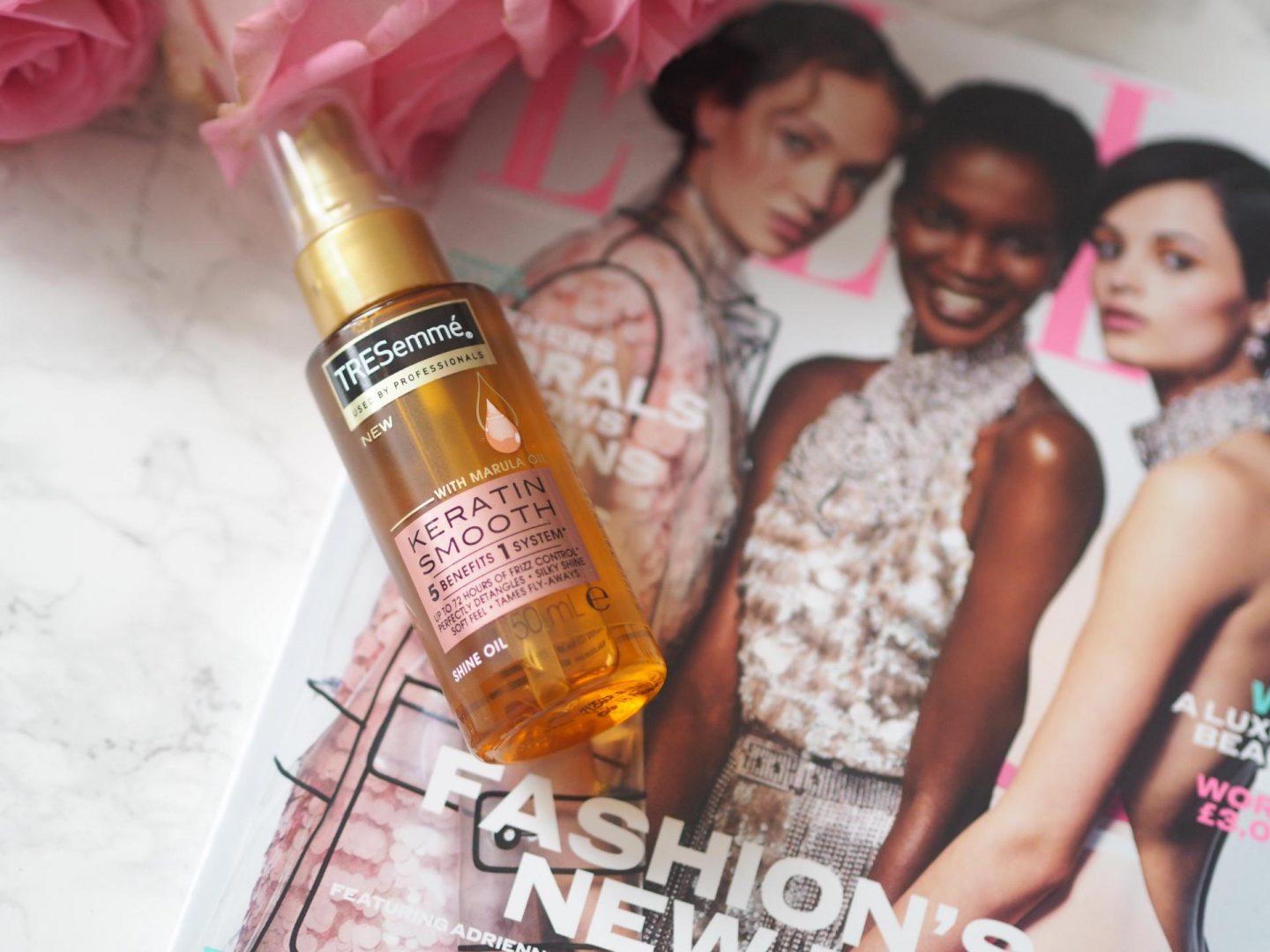 Budget Friendly Haircare - Product Tresemme Keratin Smooth Shine Oil