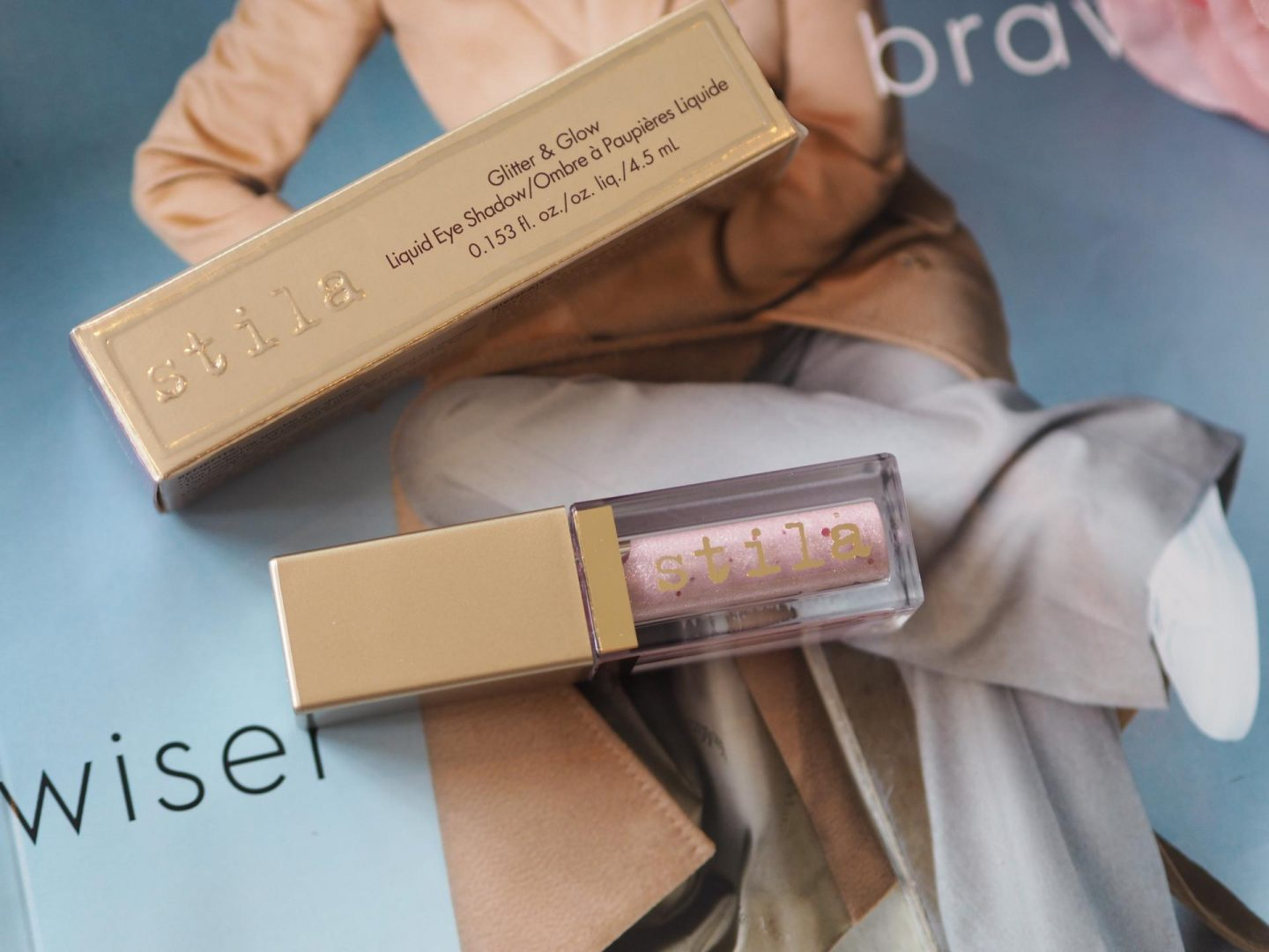 Top Luxe Make-up - Product: Stila Glitter & Glow Liquid Eyeshadow in Ballet Baby