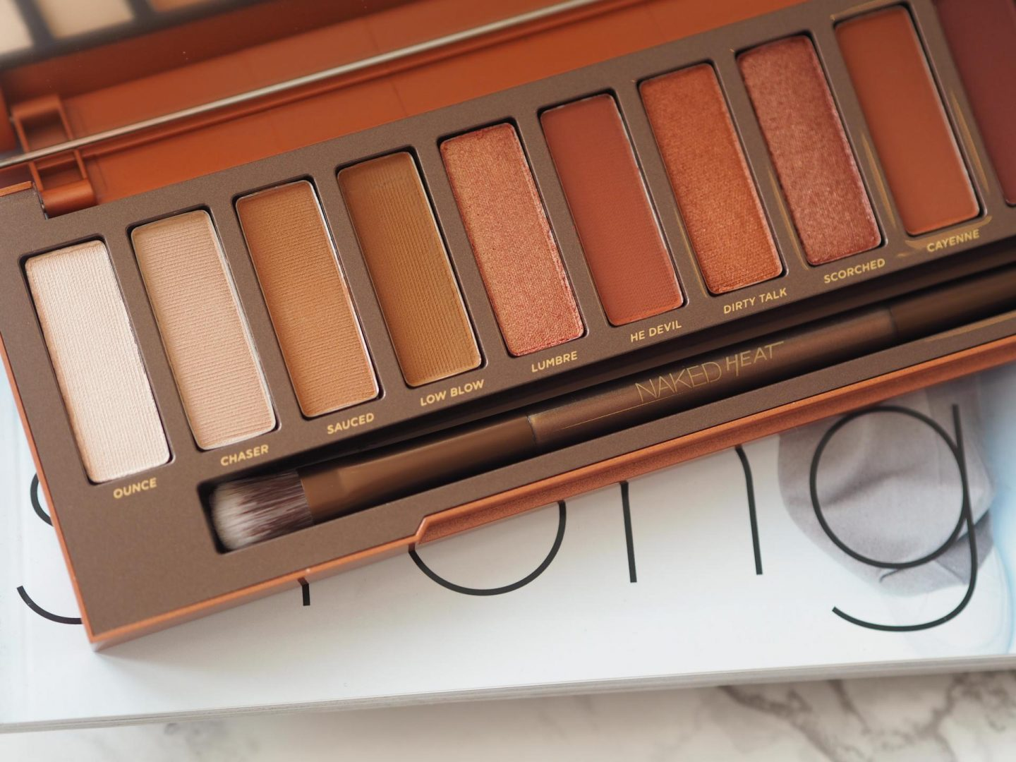 Top Luxe Make-up - Product: Urban Decay Heat Palette