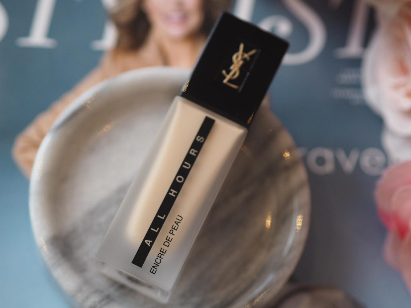 Catwalk Beauty Trends - Product: YSL All Hours Foundation (my shade - Warm Ivory)