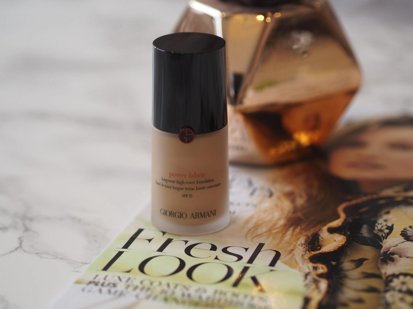 Best Long-Lasting Foundations - Products: Giorgio Armani Power Fabric Longwear High Cover Foundation SPF 25