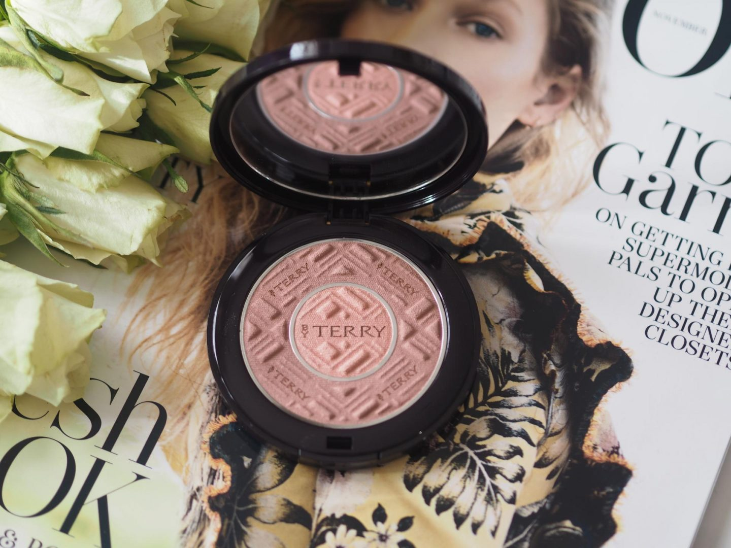 Luxe Products to Get Your Glow Back - Product: By Terry Compact Expert Hybrid Setting Veil (Colour 5. Amber Light)