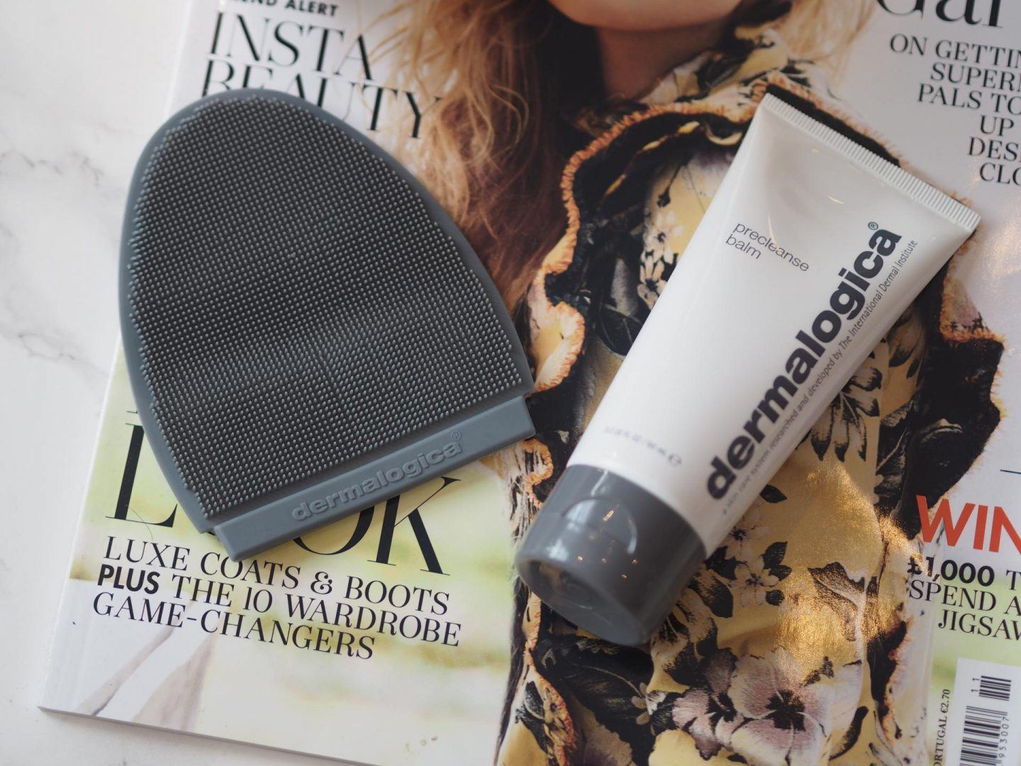 October Lookfantastic Beauty Haul - Product: Dermalogica Pre Cleanse Balm With Cleansing Mitt