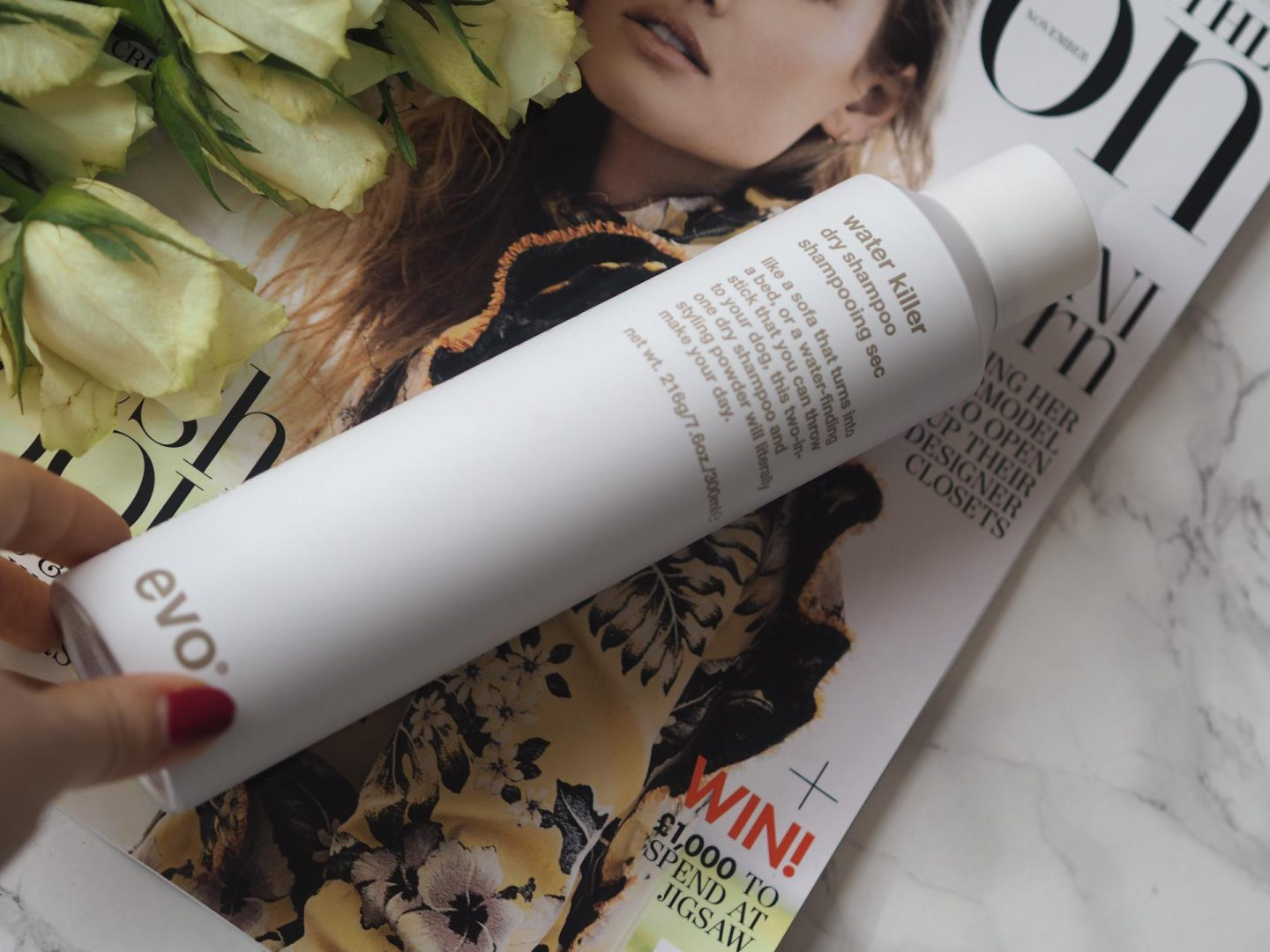 Great Products for Colour-Treated Hair - Evo Water Killer Dry Shampoo