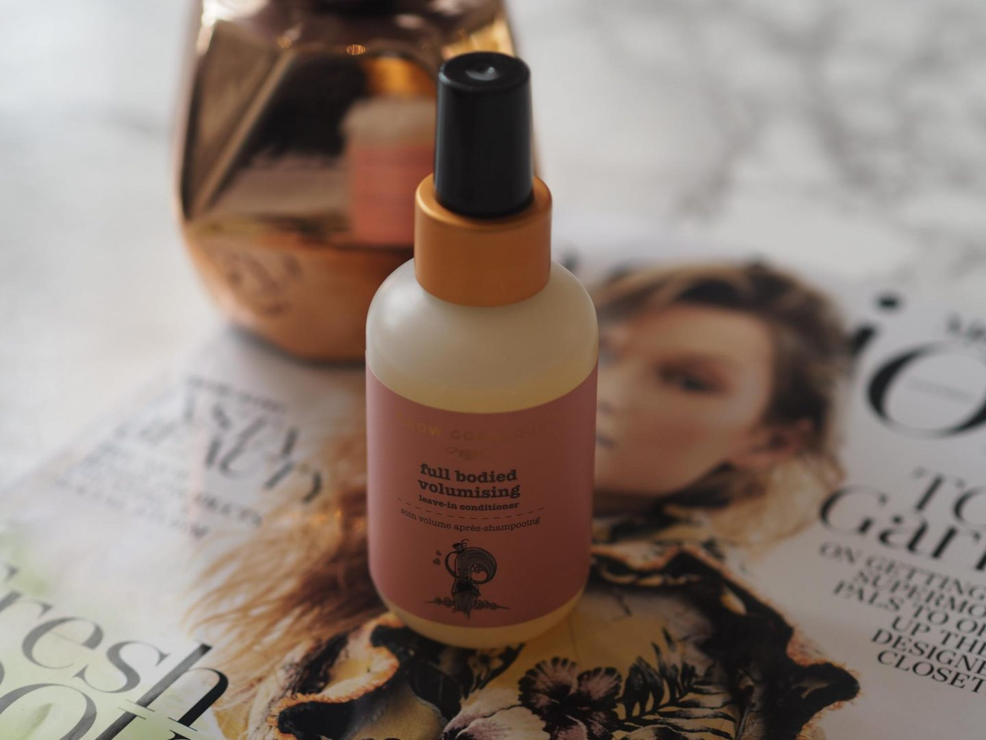 October Lookfantastic Beauty Haul - Product: Grow Gorgeous Full Bodied Volumising Leave-In Conditioner