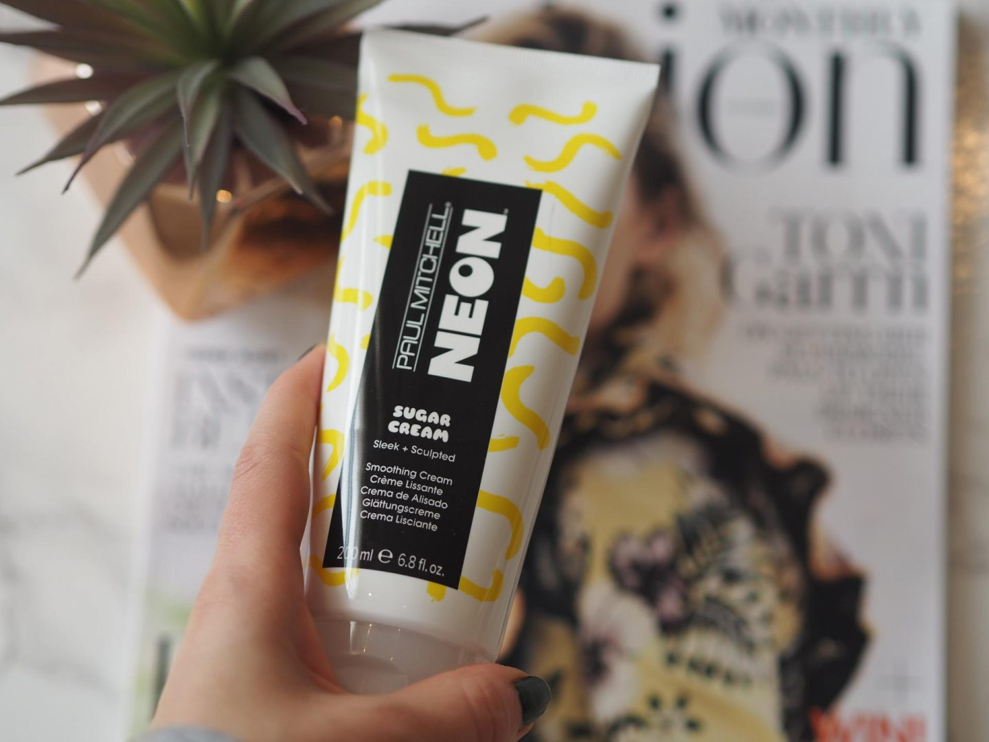 October Lookfantastic Beauty Haul - Product: Paul Mitchell Neon Sugar Cream Smoothing Cream