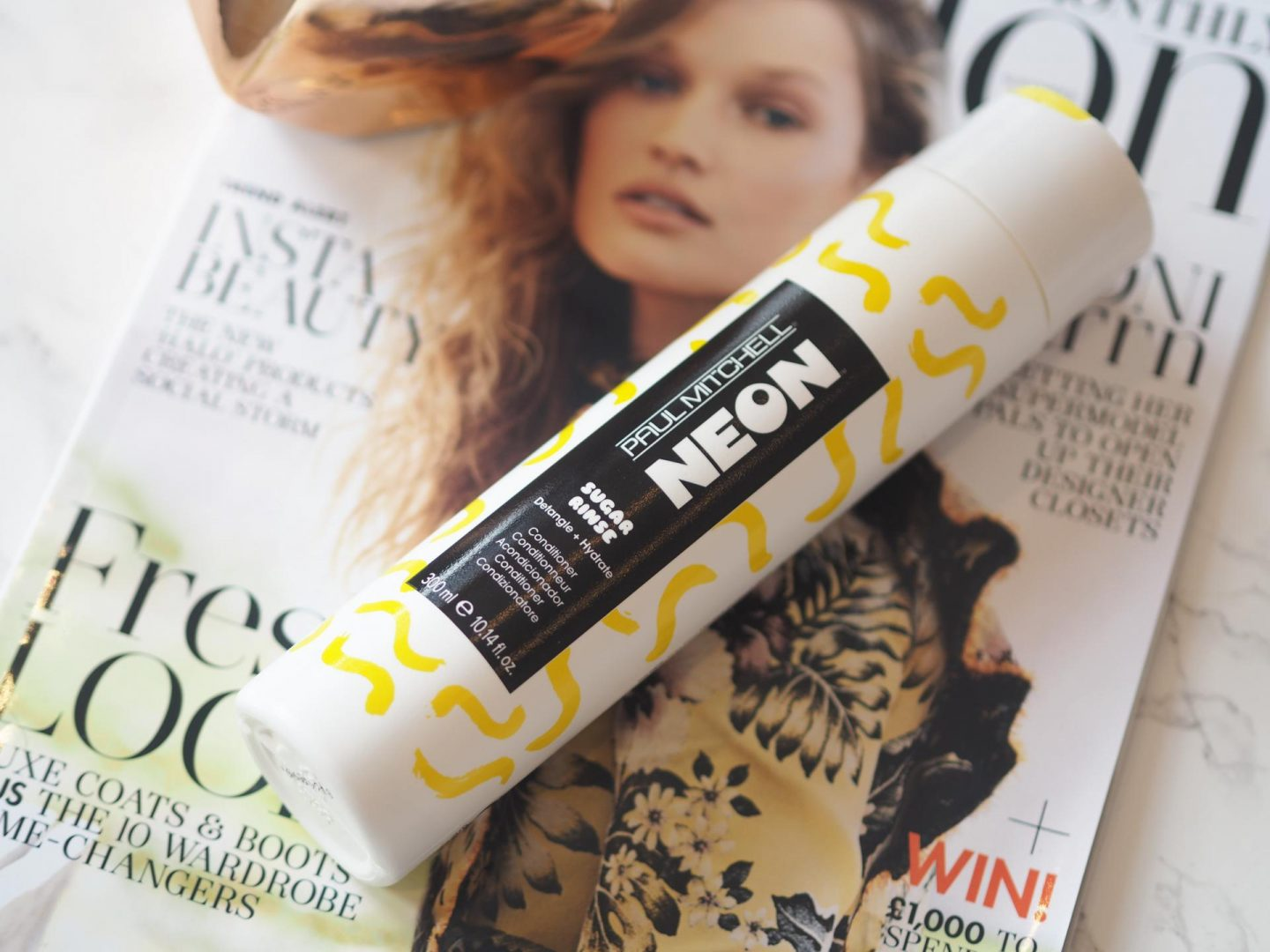 October Lookfantastic Beauty Haul - Product: Paul Mitchell Neon Sugar Rinse Conditioner