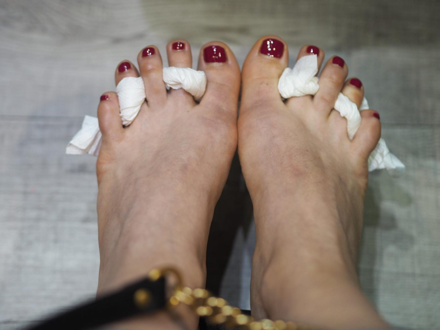OPI pedicure