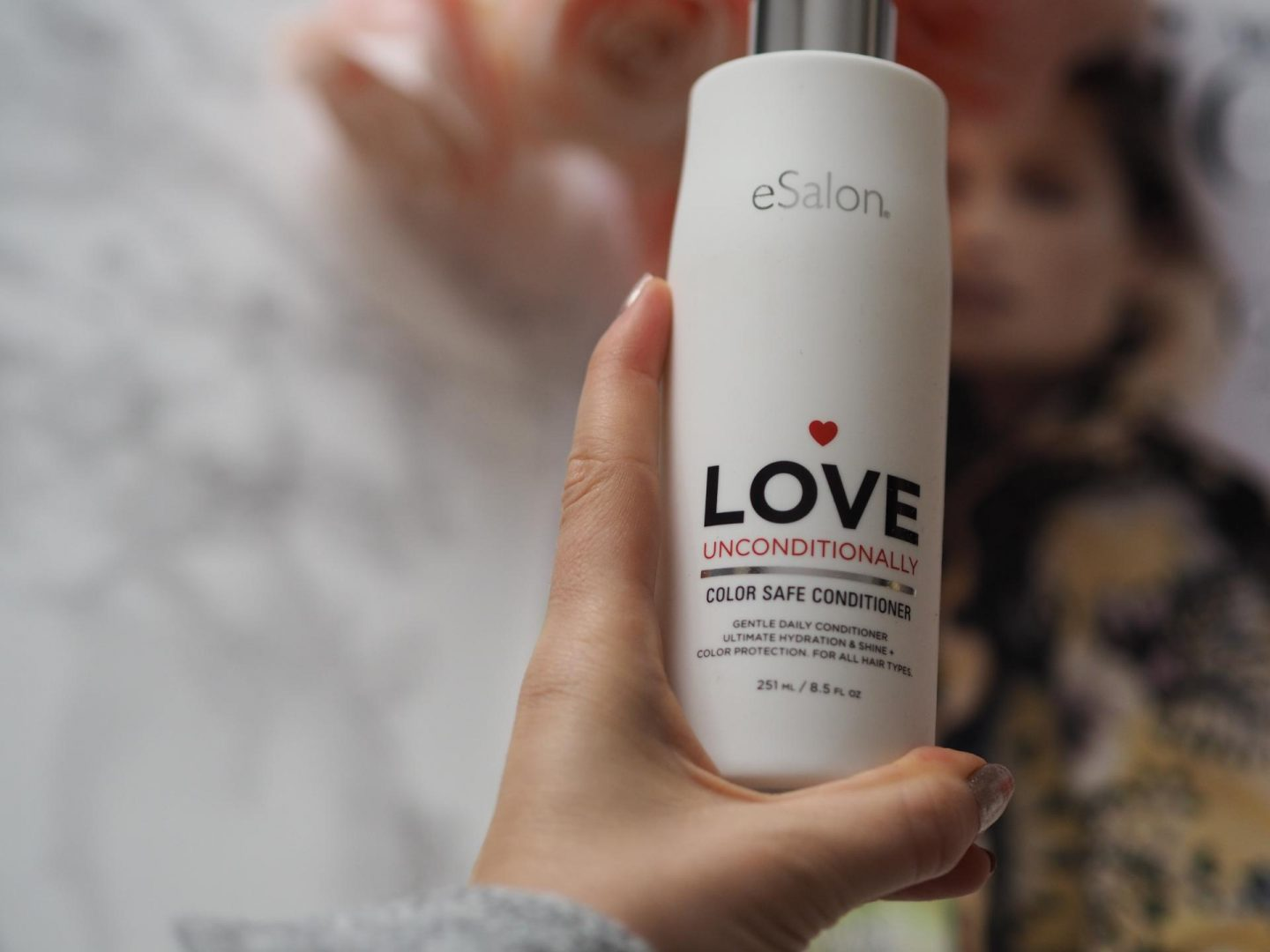 eSalon Heart Lock It Color Safe Shampoo and eSalon Love Unconditionally Color Safe Conditioner