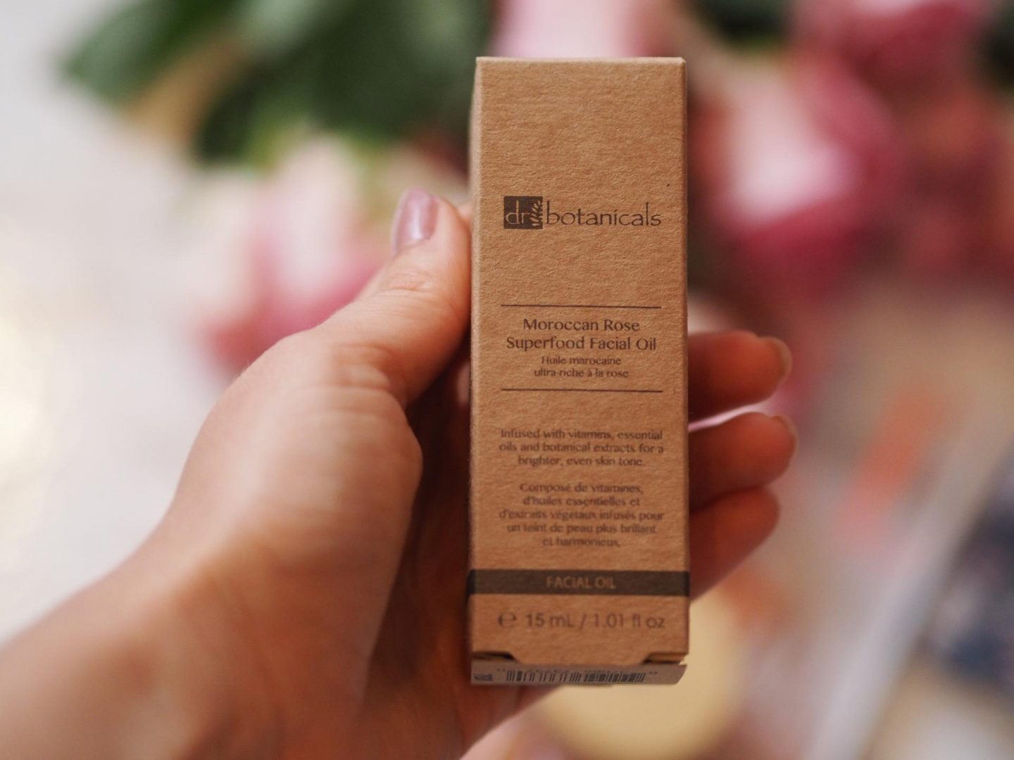 Dr. Botanicals Moroccan Rose Superfood Facial Oil