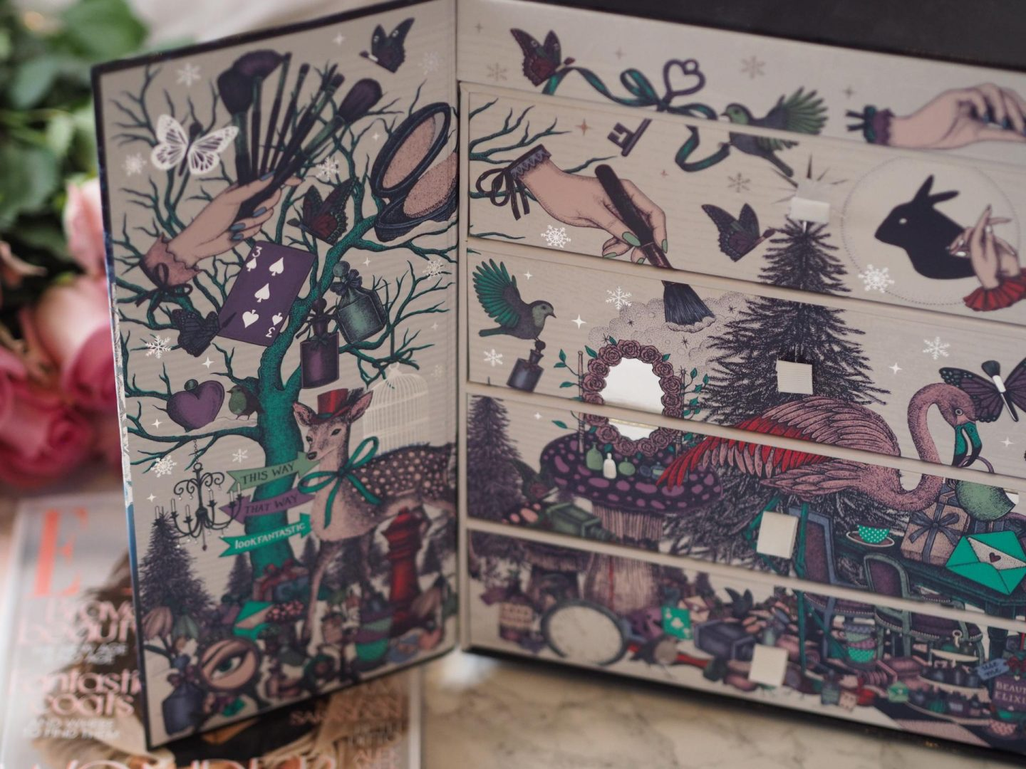 Lookfantastic Beauty in Wonderland Advent Calendar
