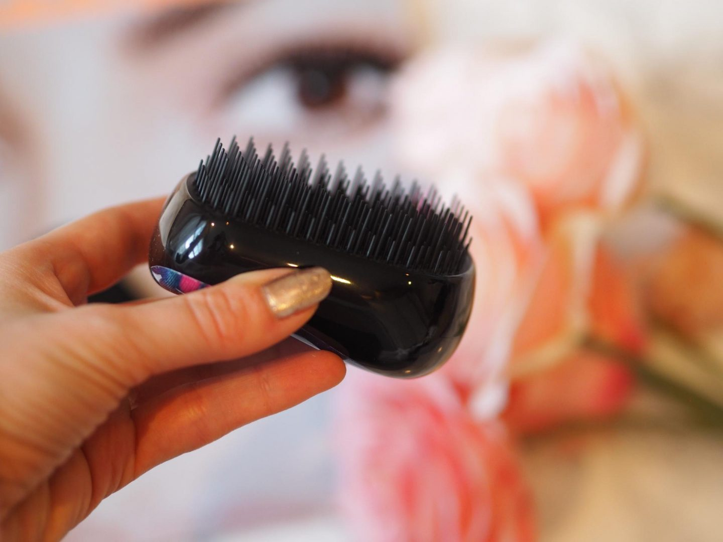 Tangle Teezer On-The-Go Detangling Hair Brush (Lookfanstastic Exclusive)