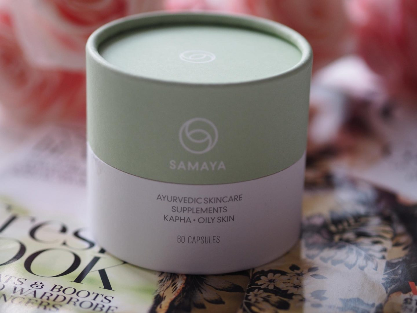 Samaya Ayurvedic Skincare Supplements for Kapha – Oily Skin