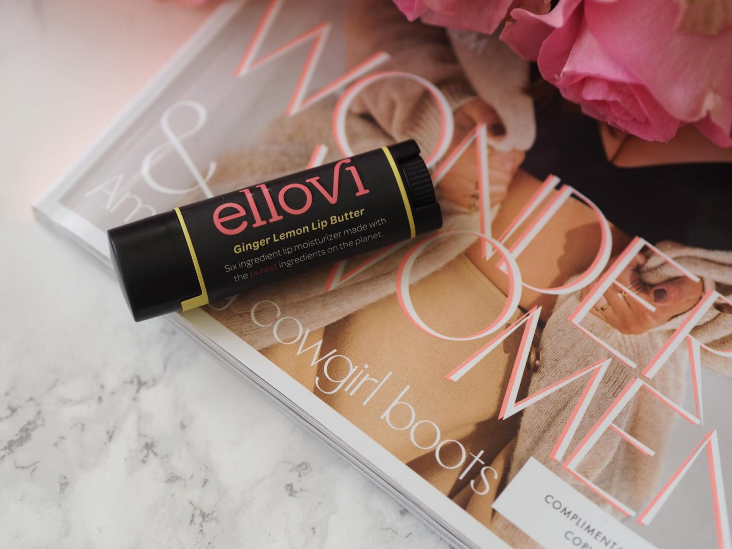 Ellovi Lip Butter in Ginger Lemon