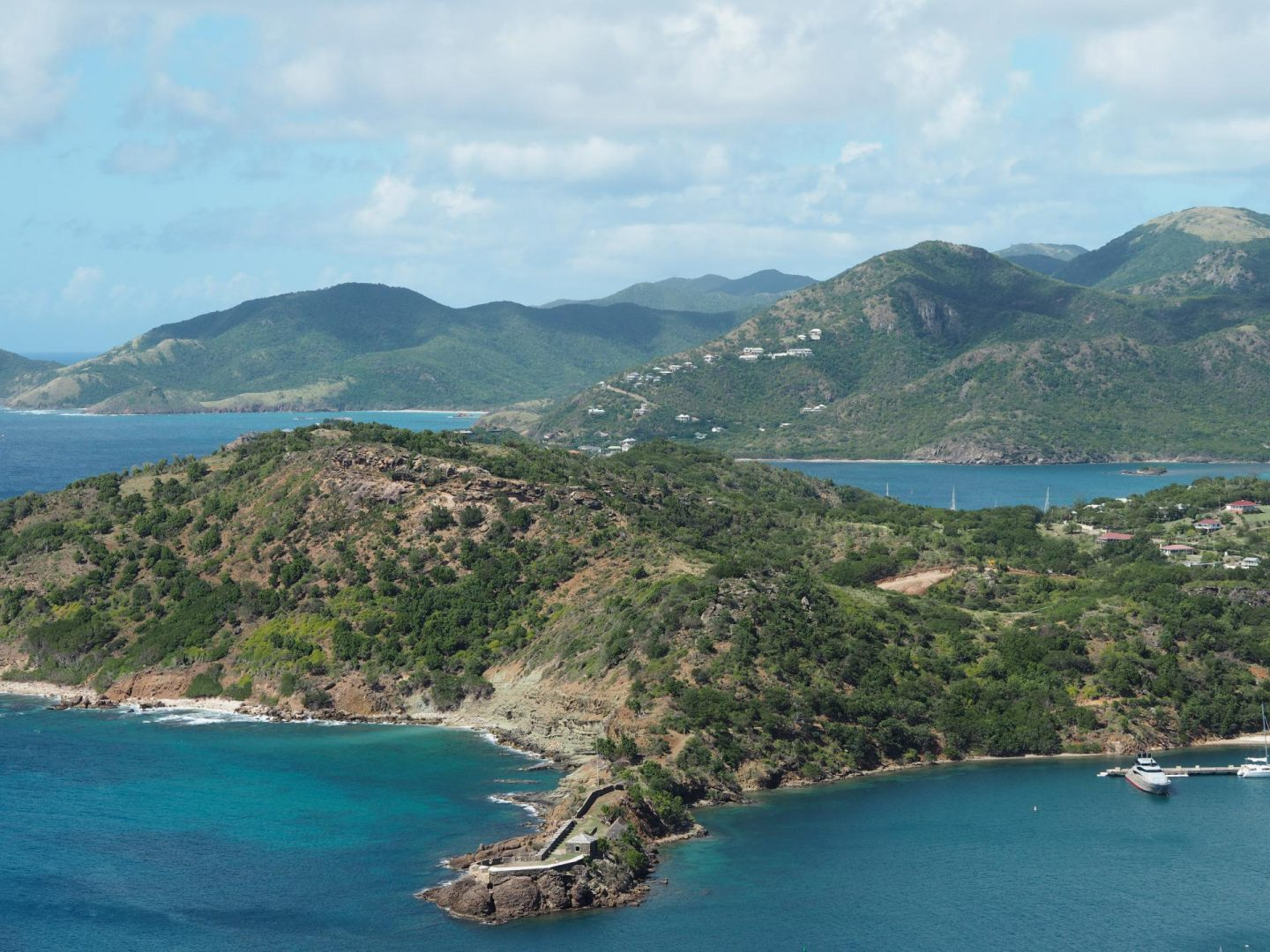 Shirley Heights and English Harbour, Antigua