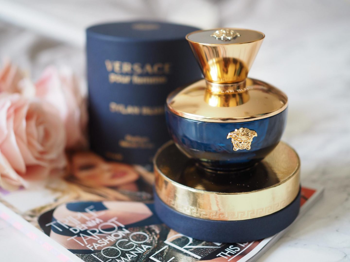 Valentine's Day Gift Guide - Versace Pour Femme Dylan Blue