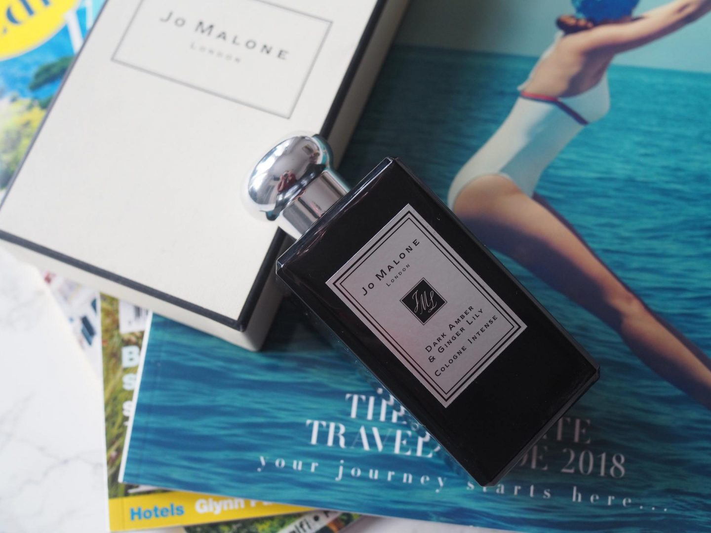 Jo Malone Dark Amber + Ginger Lily Cologne Intense