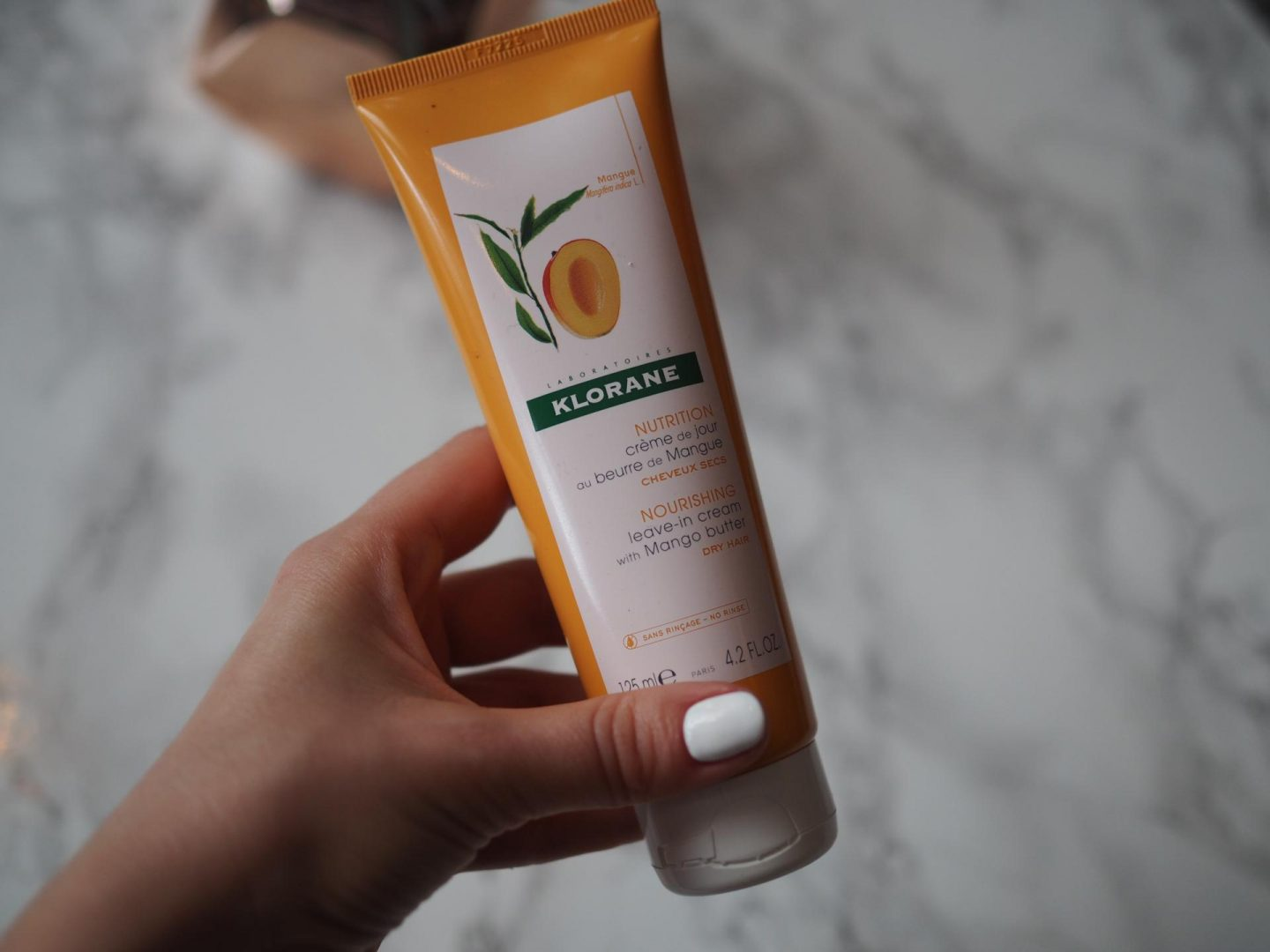 Klorane Nourishing Leave-In Cream with Mango Butter