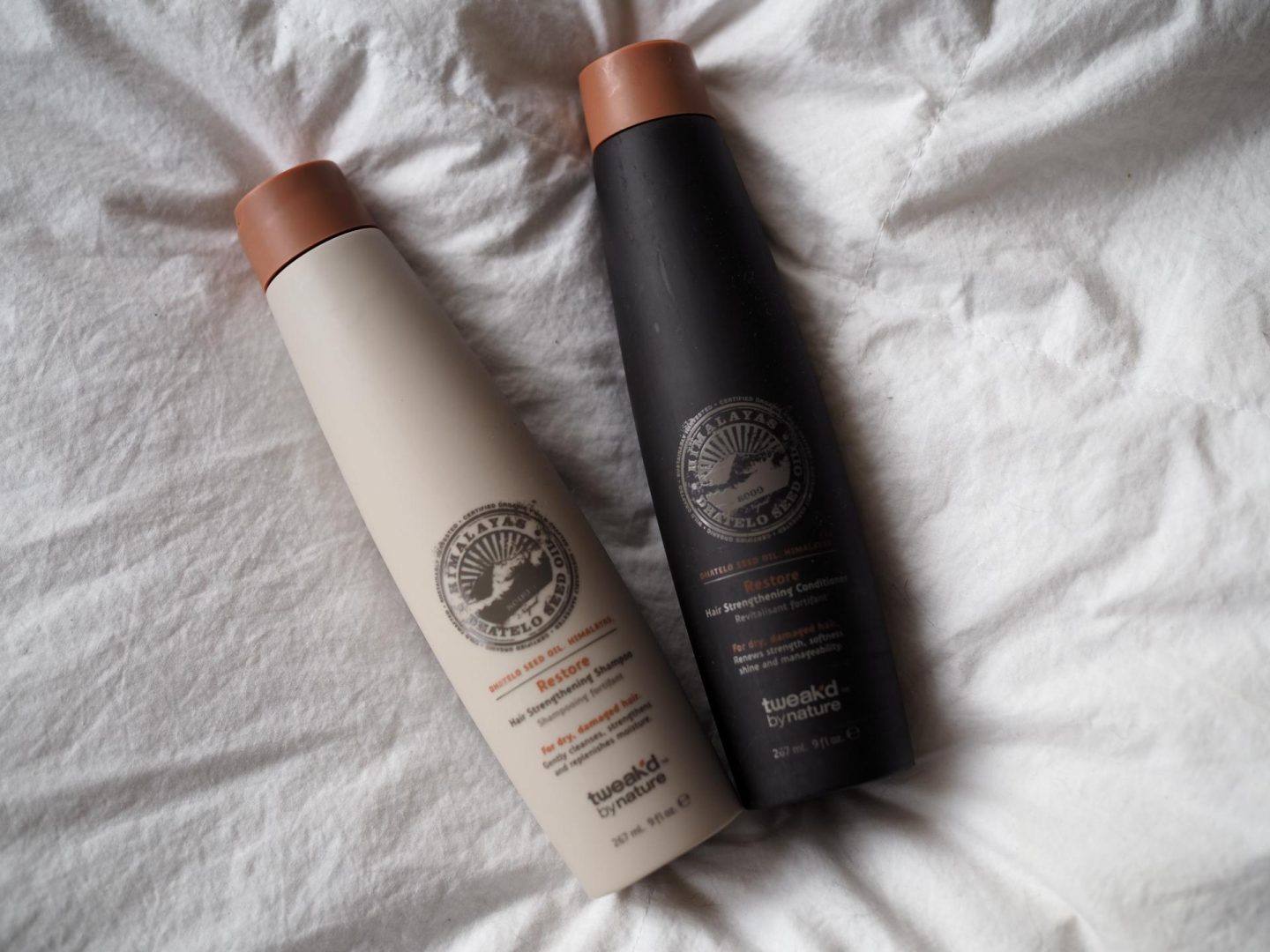 Tweak'd By Nature Restore Hair Strengthening Shampoo/Conditioner
