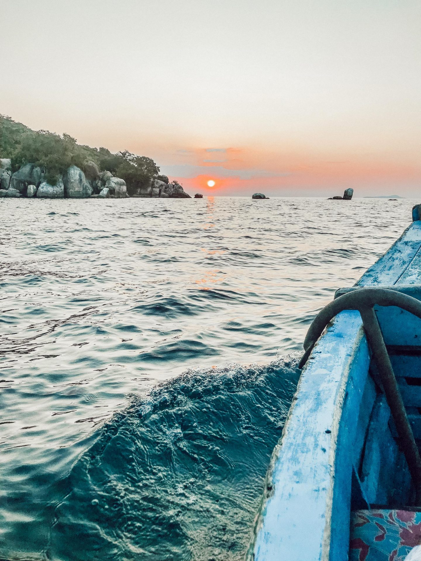 sunset cruise lake malawi