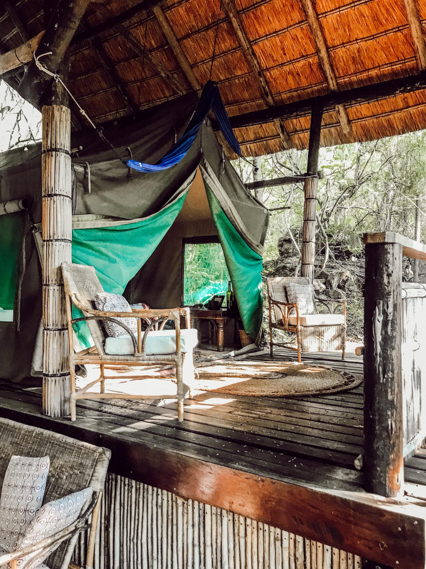 eco-travel at Lake Malawi on Mumbo Island