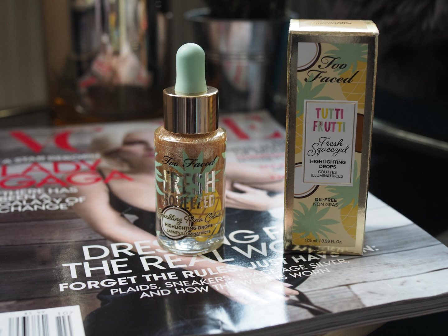 Too Faced Tutti Frutti Freshly Squeezed Highlighting Drops