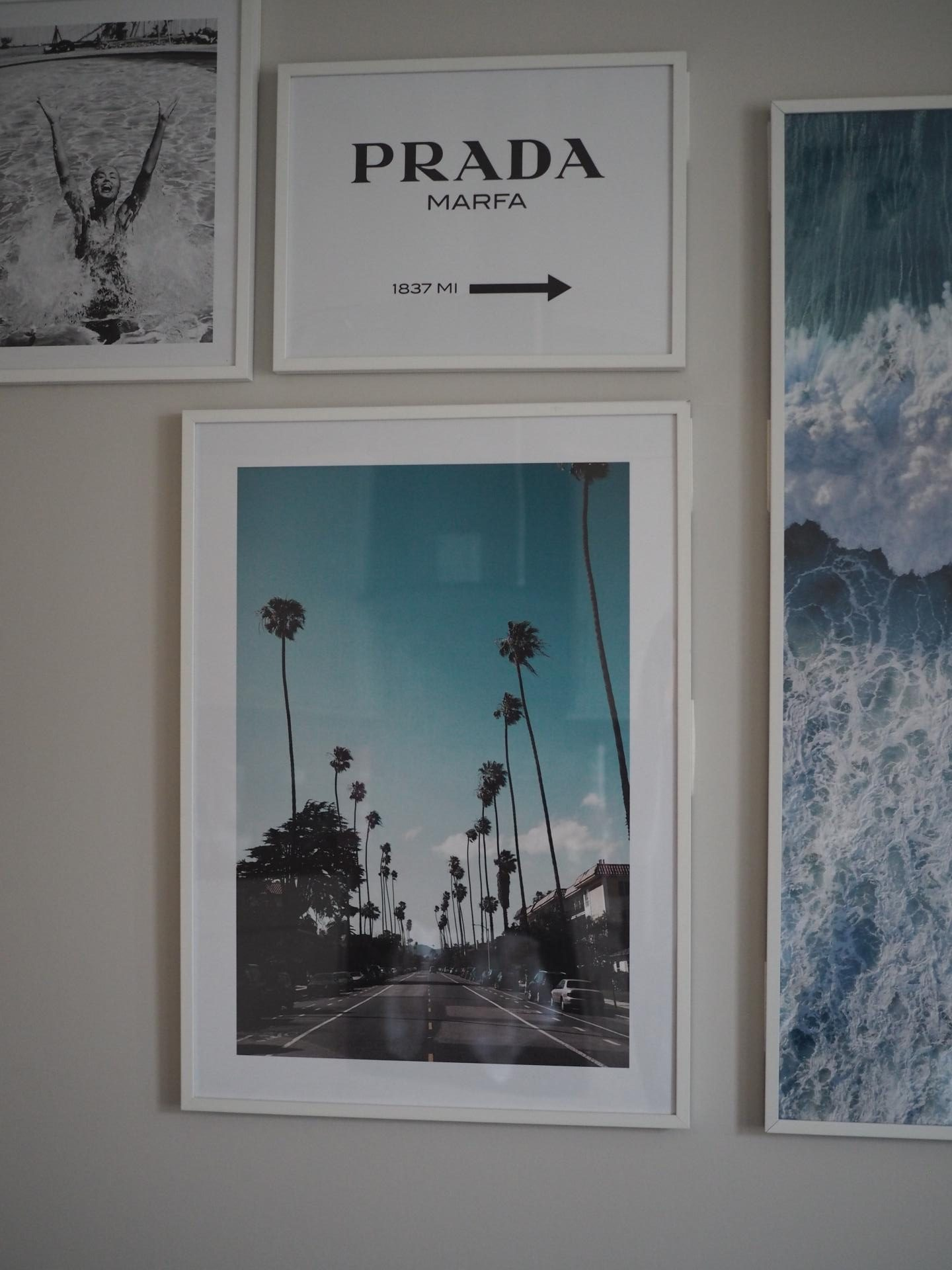 Desenio Street of Los Angeles poster and how to create the perfect gallery wall