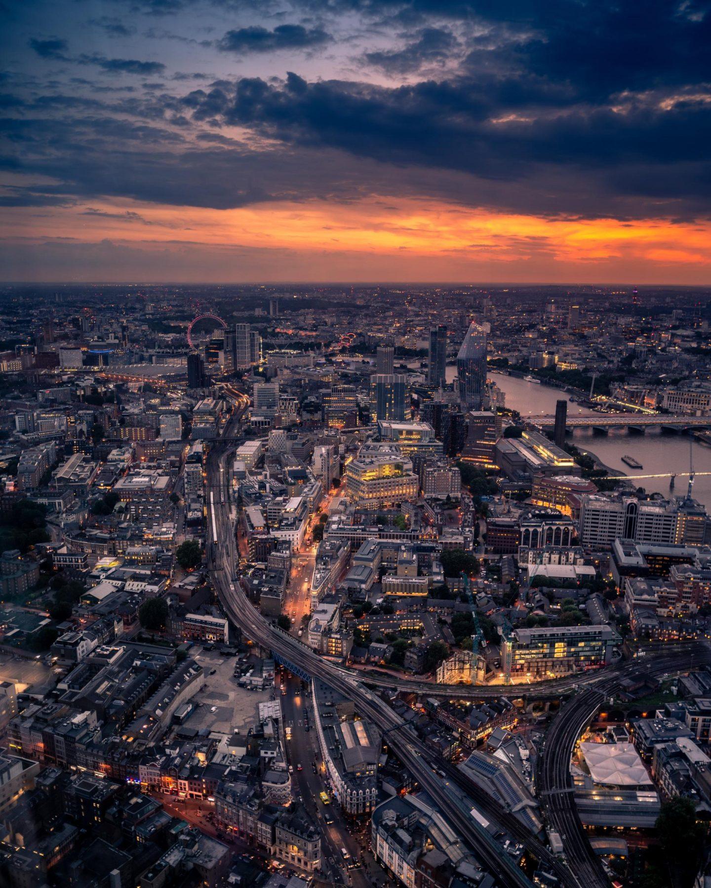 london birds eye view